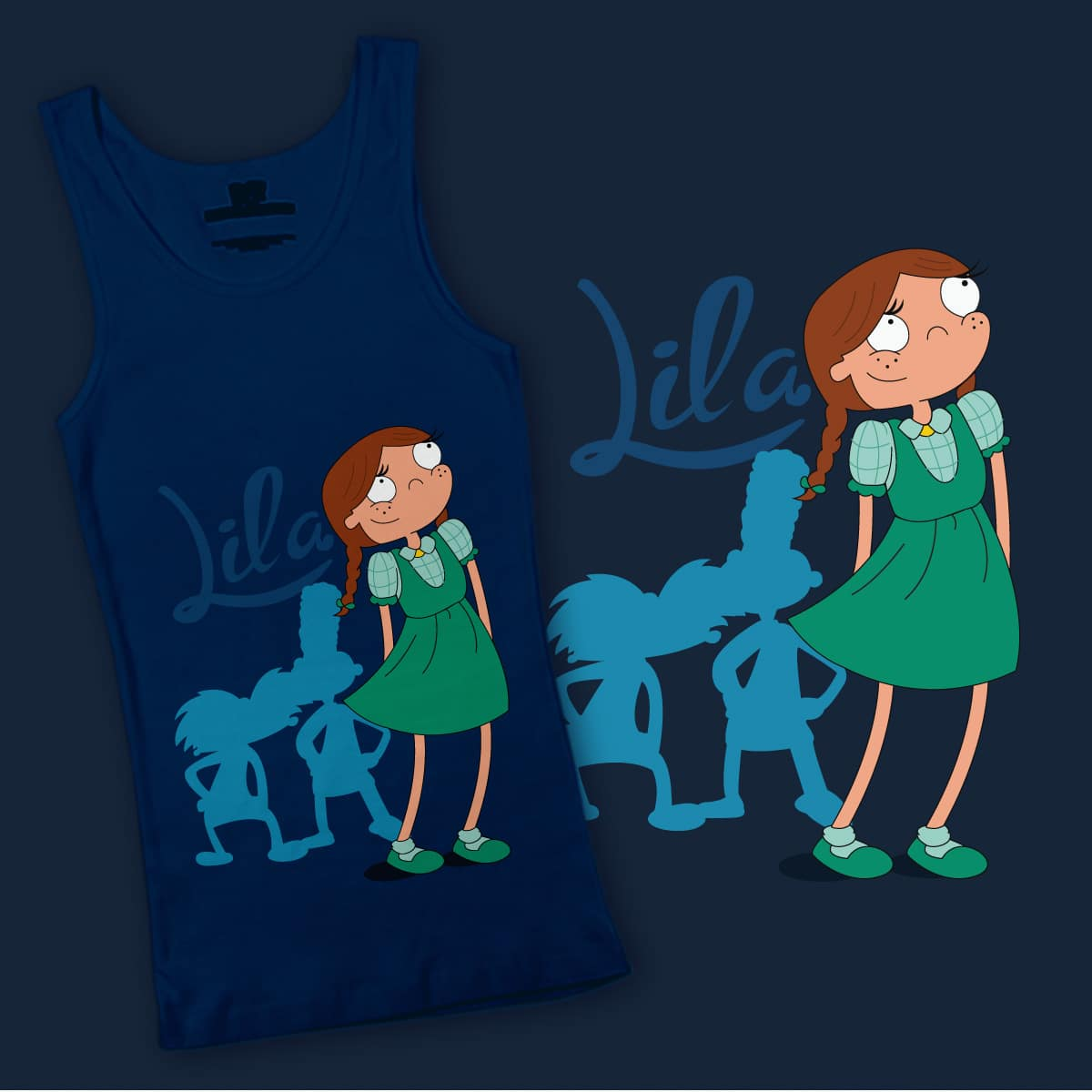 Lila by chencha on Threadless
