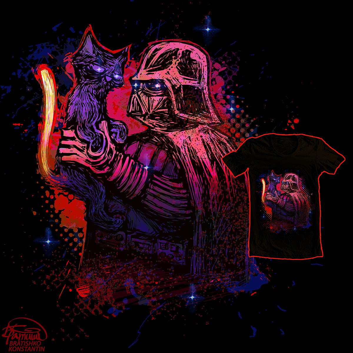 Cat Vader  by KONSTANTIN BRATISHKO on Threadless