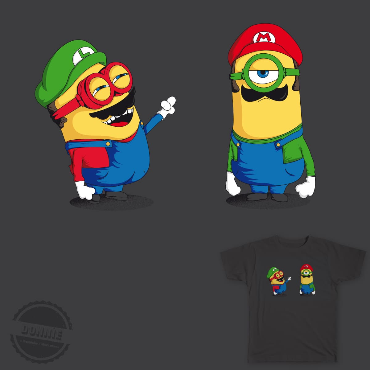 Mini Plumber by DonnieArt on Threadless