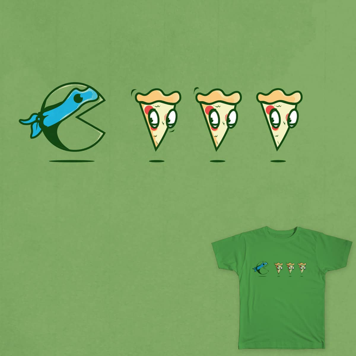PacTurtle by Donniiie on Threadless
