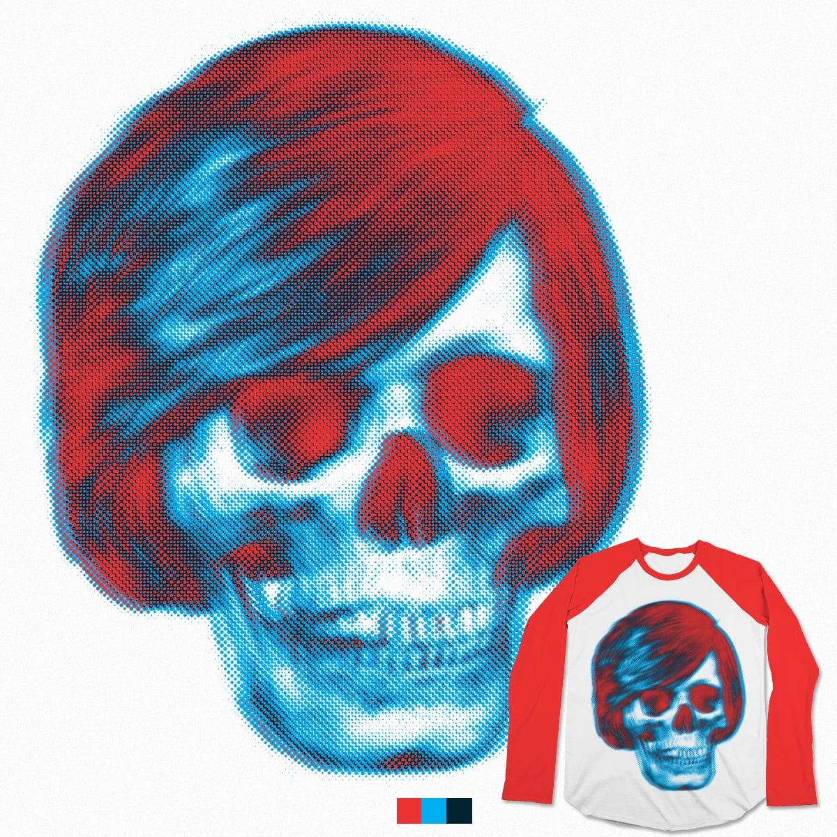 Skull Bright by Mr Rocks on Threadless