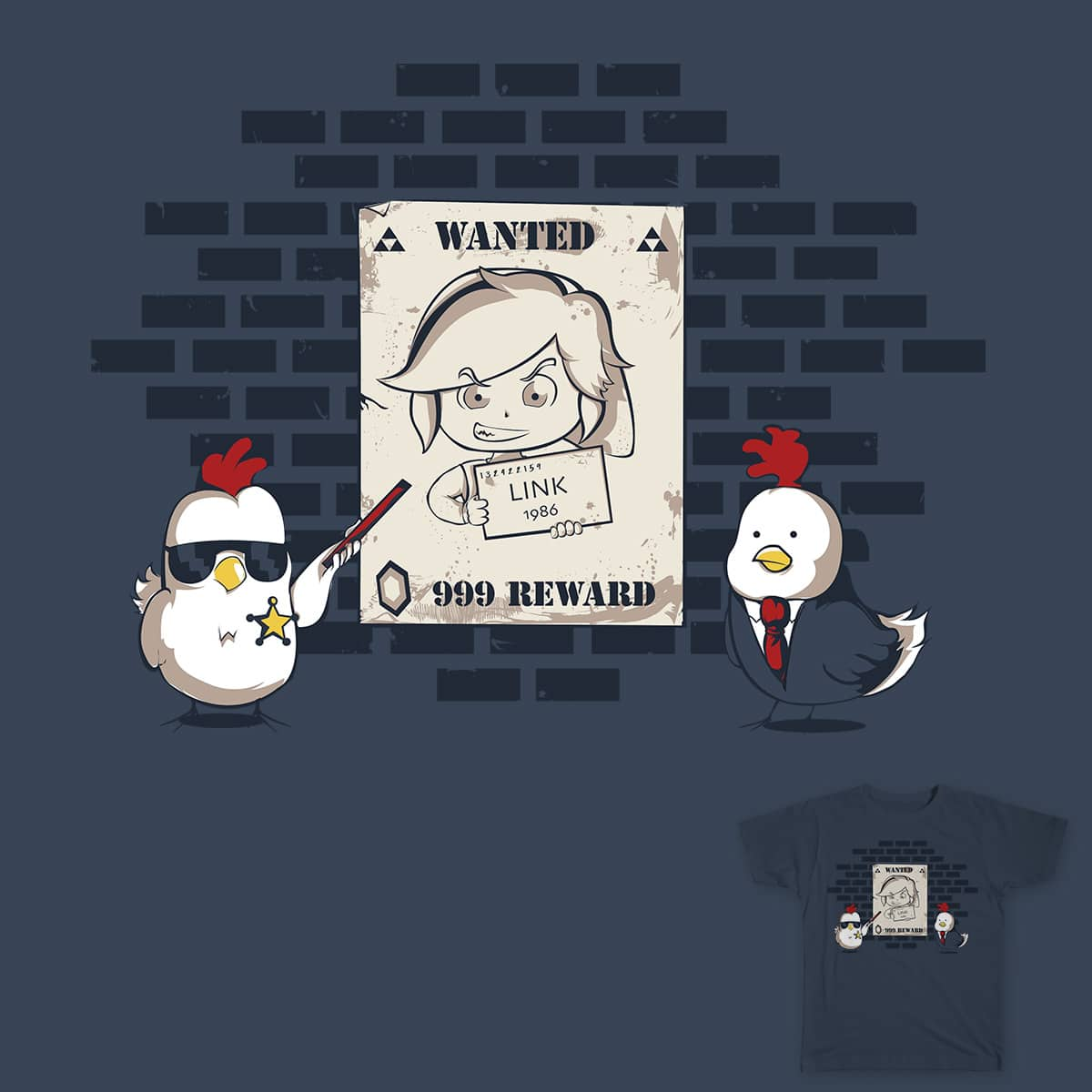 Wanted by DonnieArt on Threadless