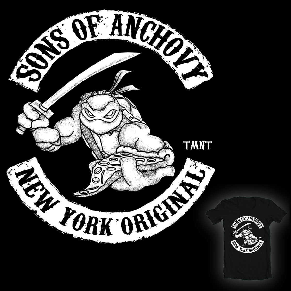 Sons of Anchovy by Flynnteractive on Threadless