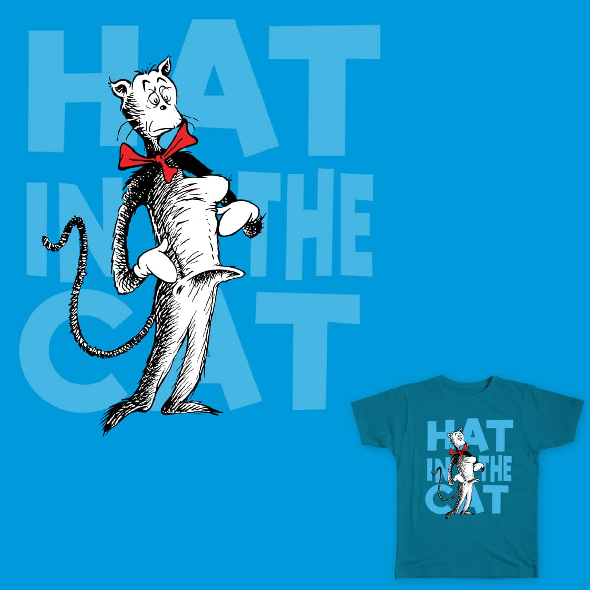 Hat in the Cat by Flynnteractive on Threadless