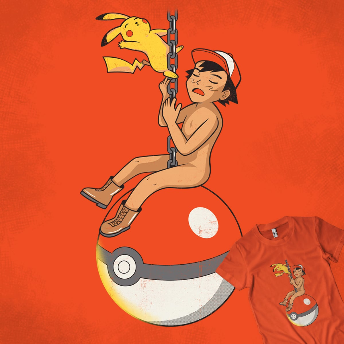 I Came In Like A Pokeball! by kaizenkris on Threadless