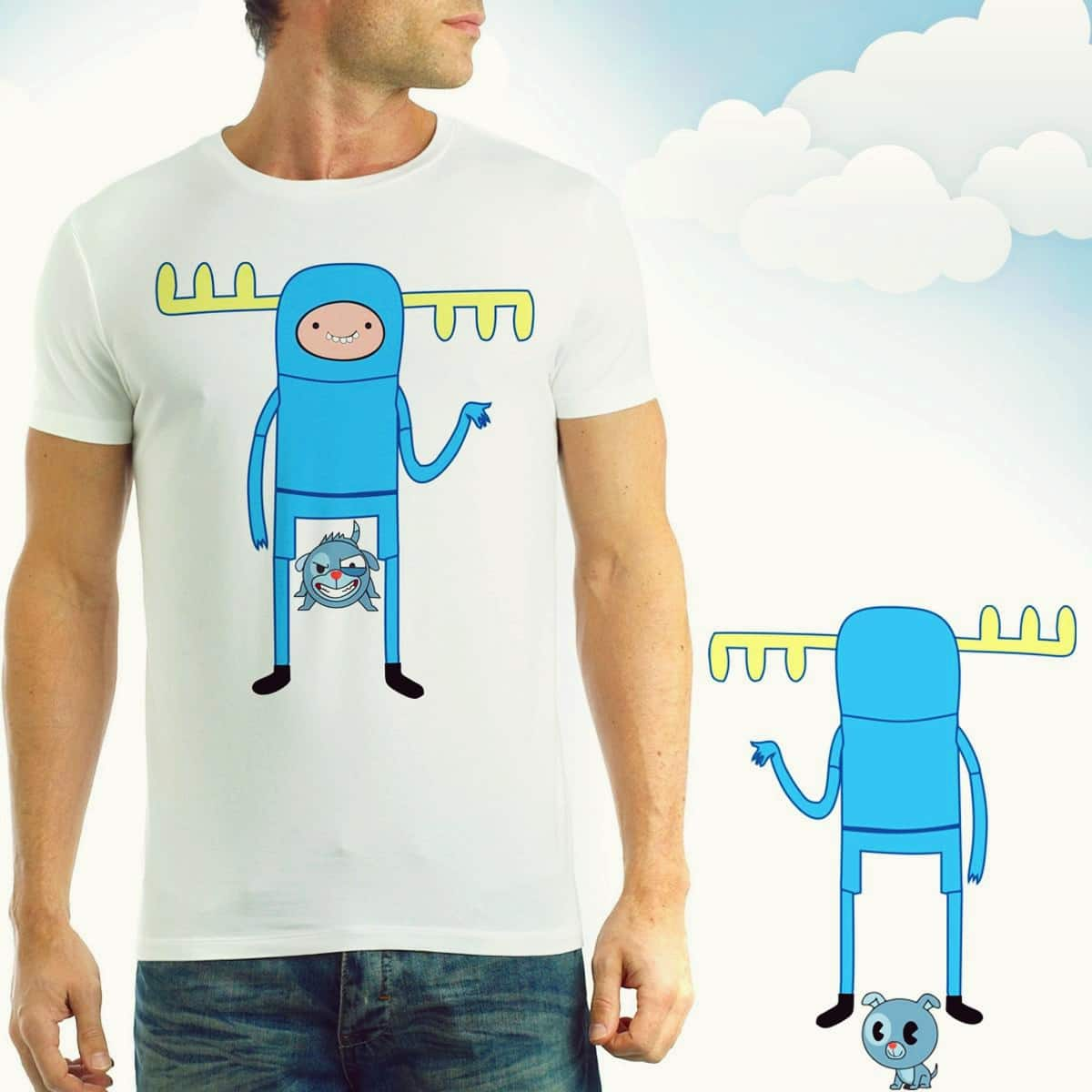 You look like lumpy by SaulTP on Threadless