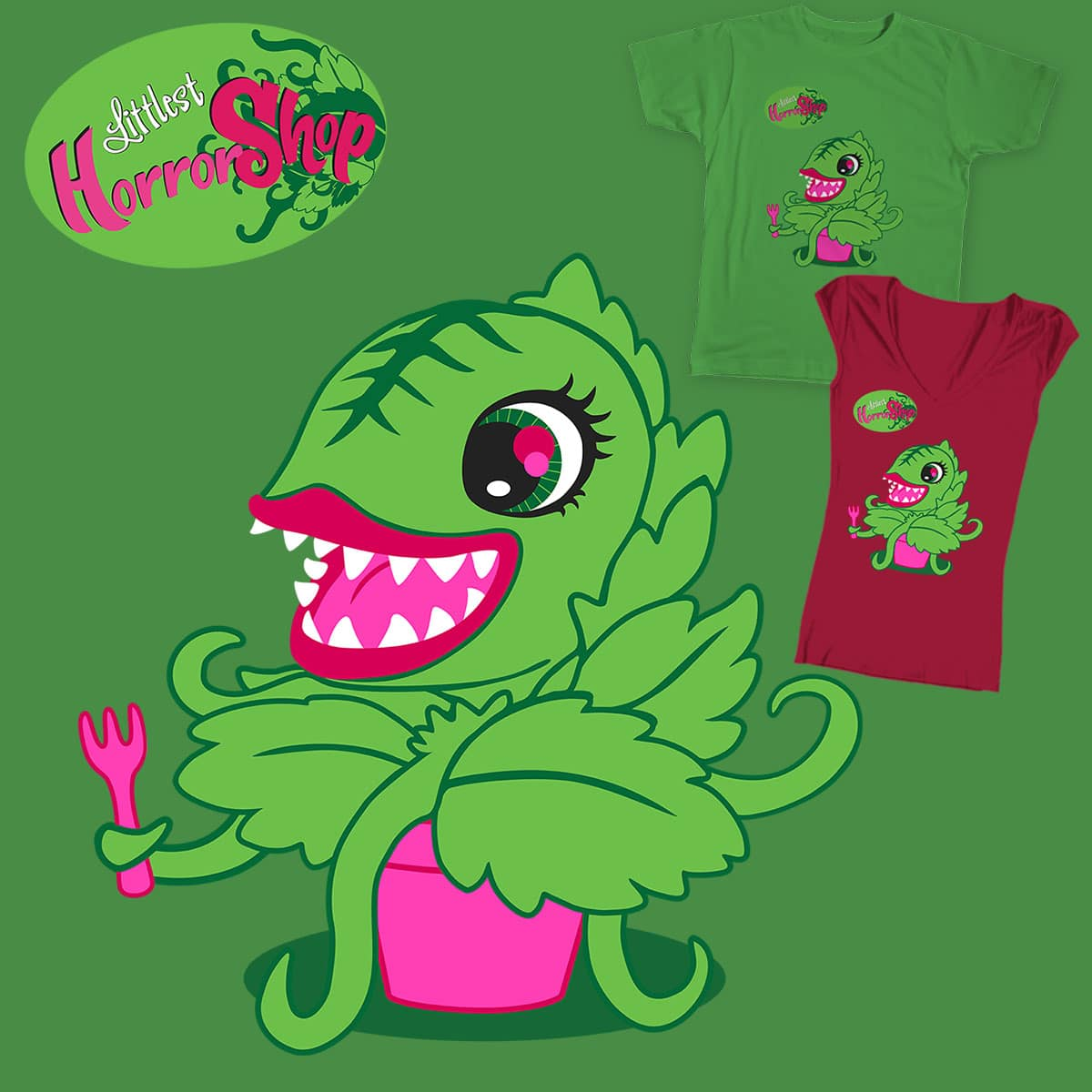 Littlest Horror Shop by Nox-dl on Threadless