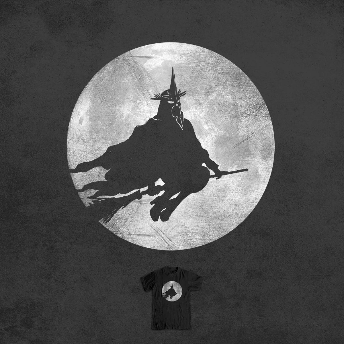 witchking by jerbing33 on Threadless