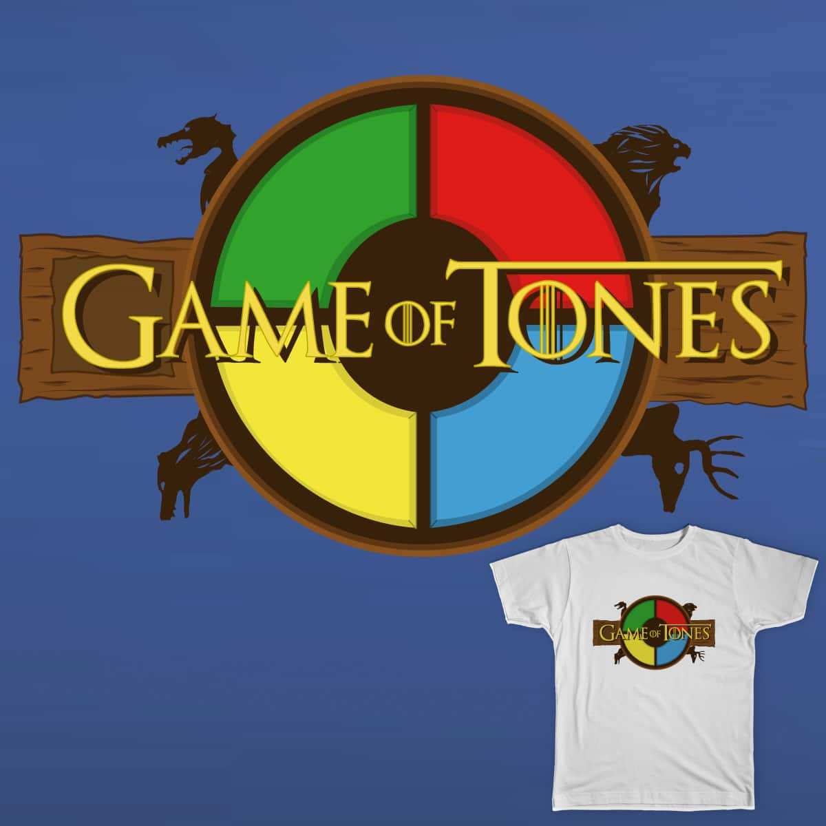 Game of Tones by Nordensoul on Threadless
