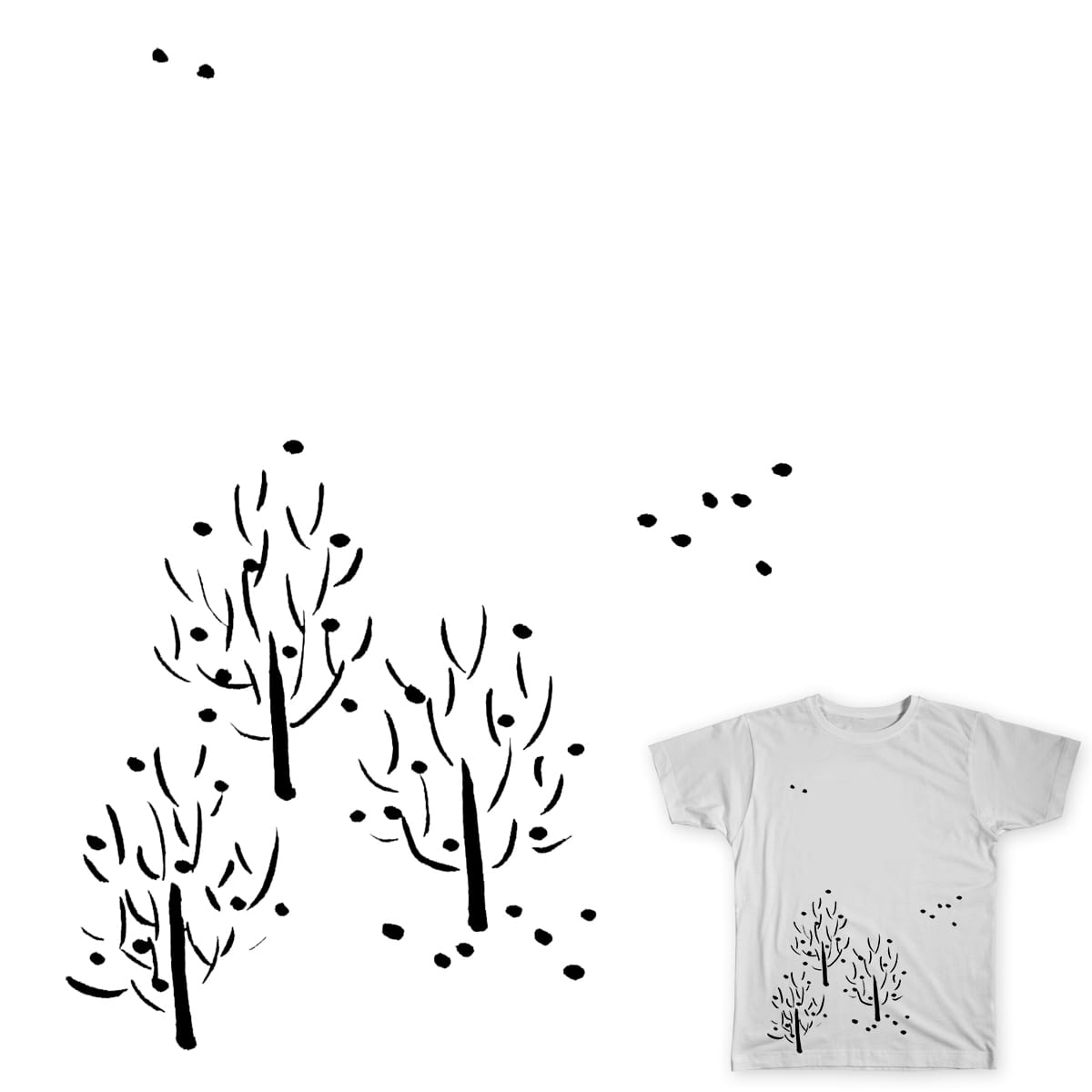 Trees by dfeng5 on Threadless