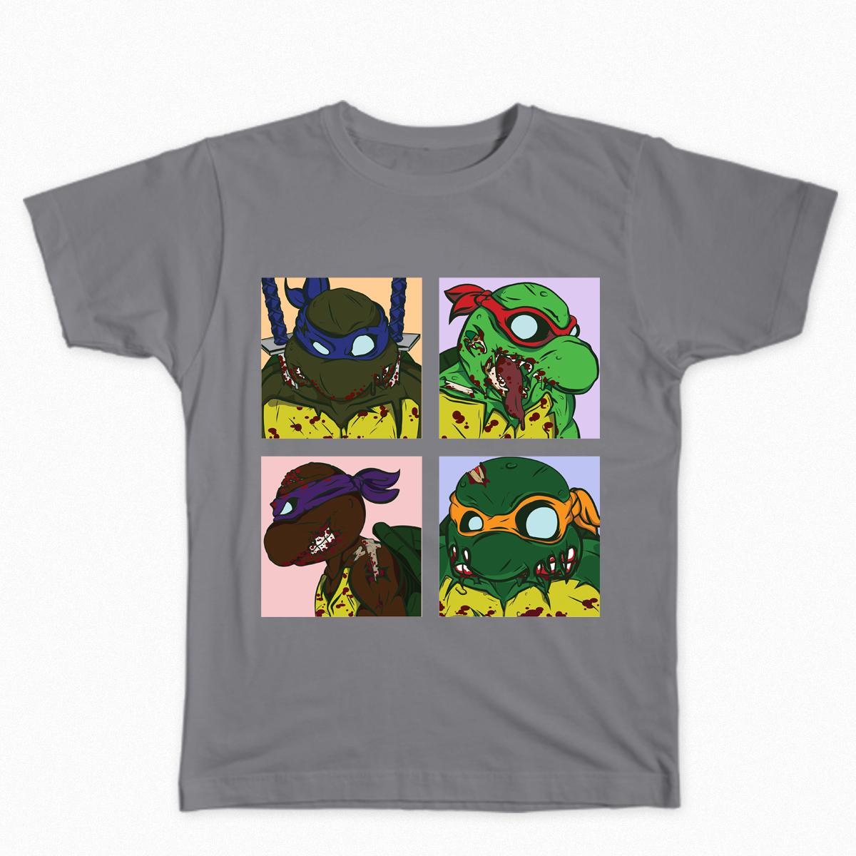 Teenage Mutant Ninja Zombies by Party_Moth59 on Threadless