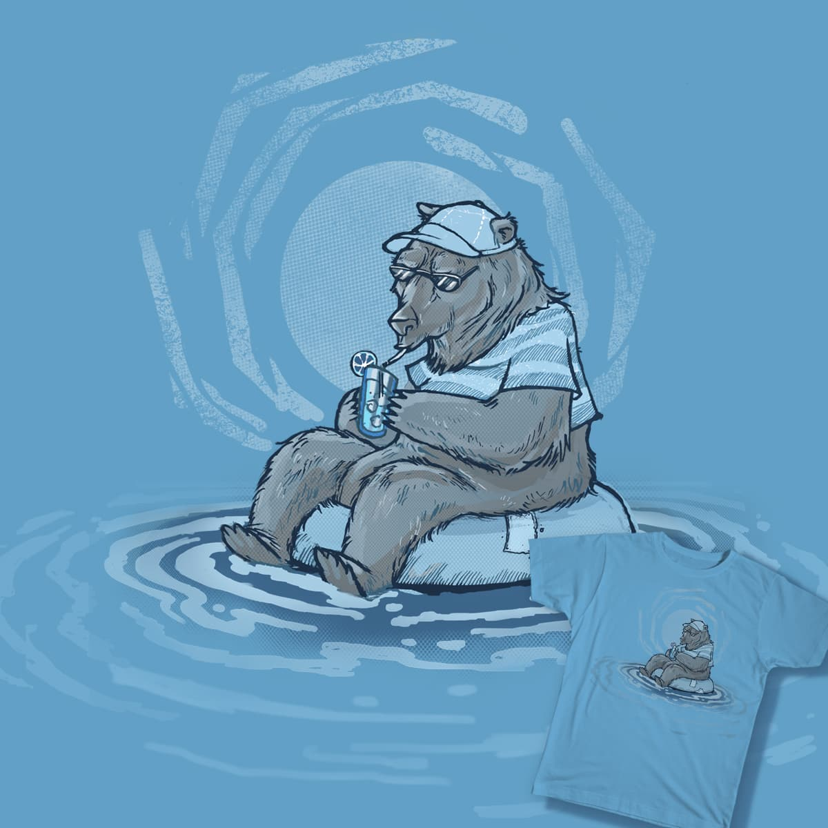Summer bear by Seyer21 on Threadless