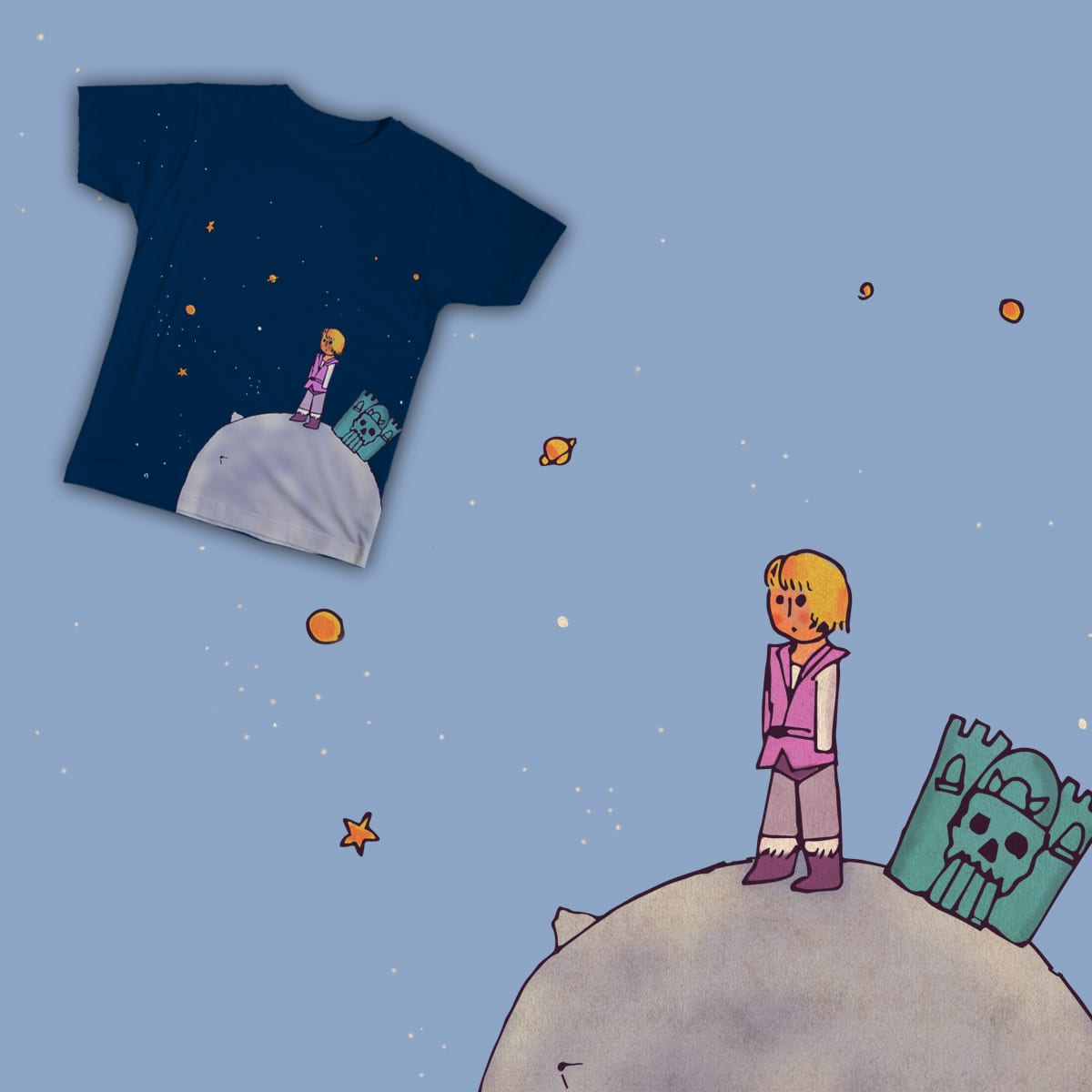 Le Petit Prince Adam by Elpablosilva on Threadless