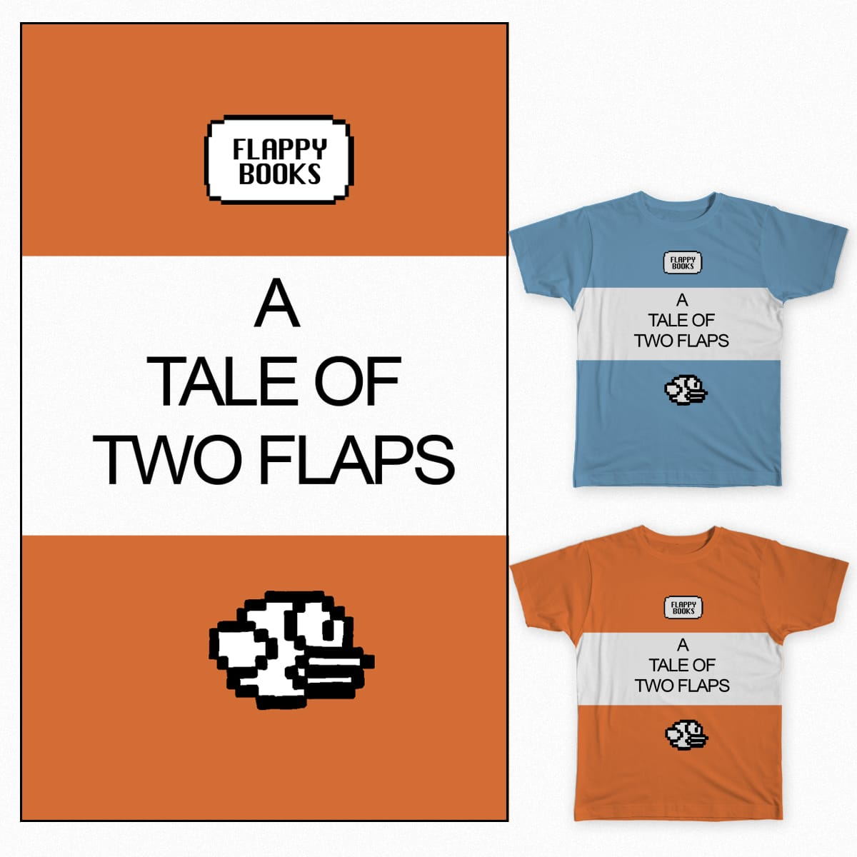 Flappy Books by Jubba14 on Threadless