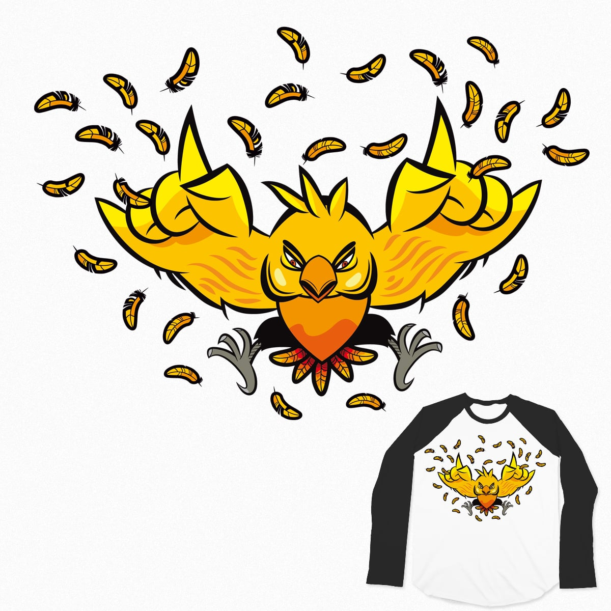 canary by deadsquirrel on Threadless
