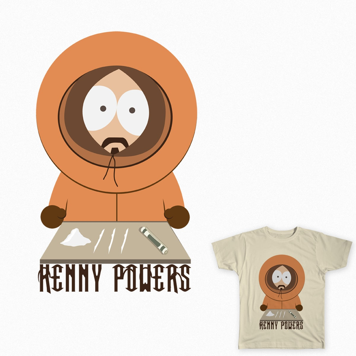 Kenny Powers by sohelpmegod on Threadless