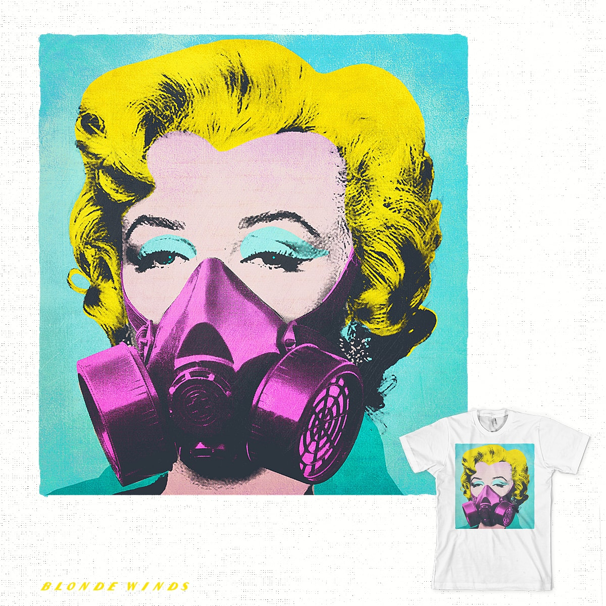 Spray Pop by BlondeWinds on Threadless