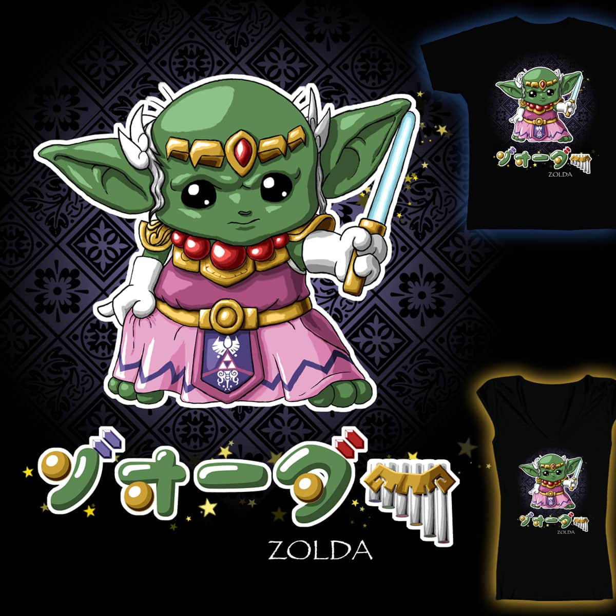 Zolda by pixiemichii on Threadless