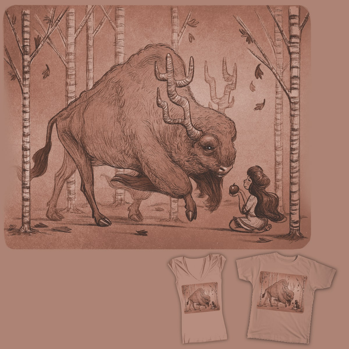 The Gift by cachava on Threadless
