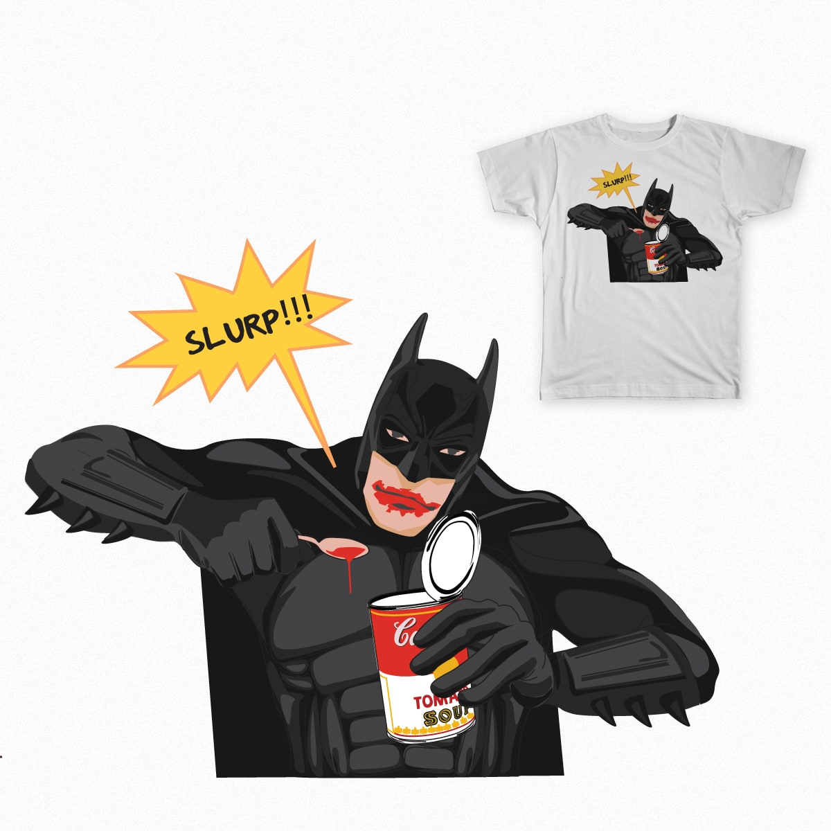 Batman by shmugavac on Threadless