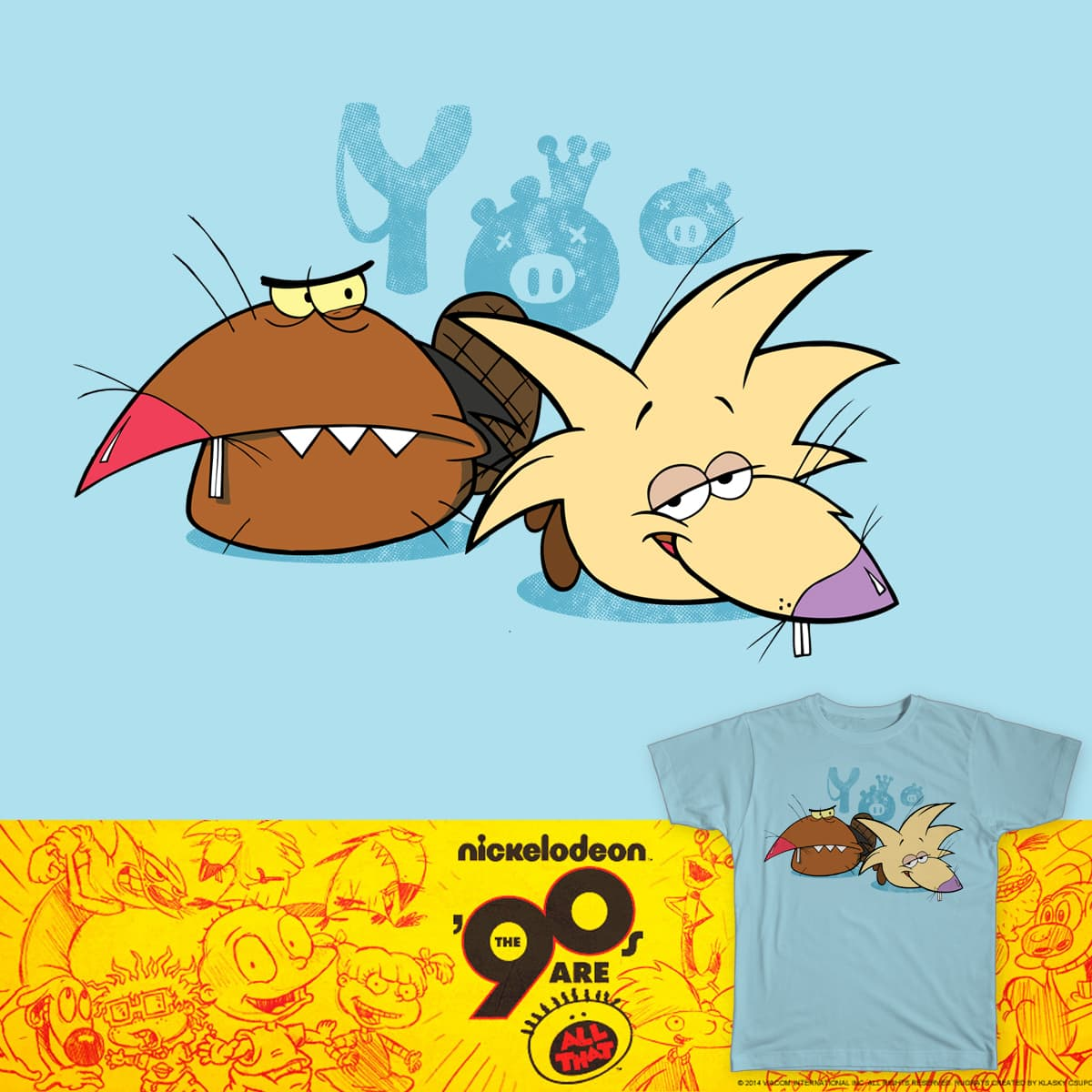 Angry Beavers by StevenRice on Threadless