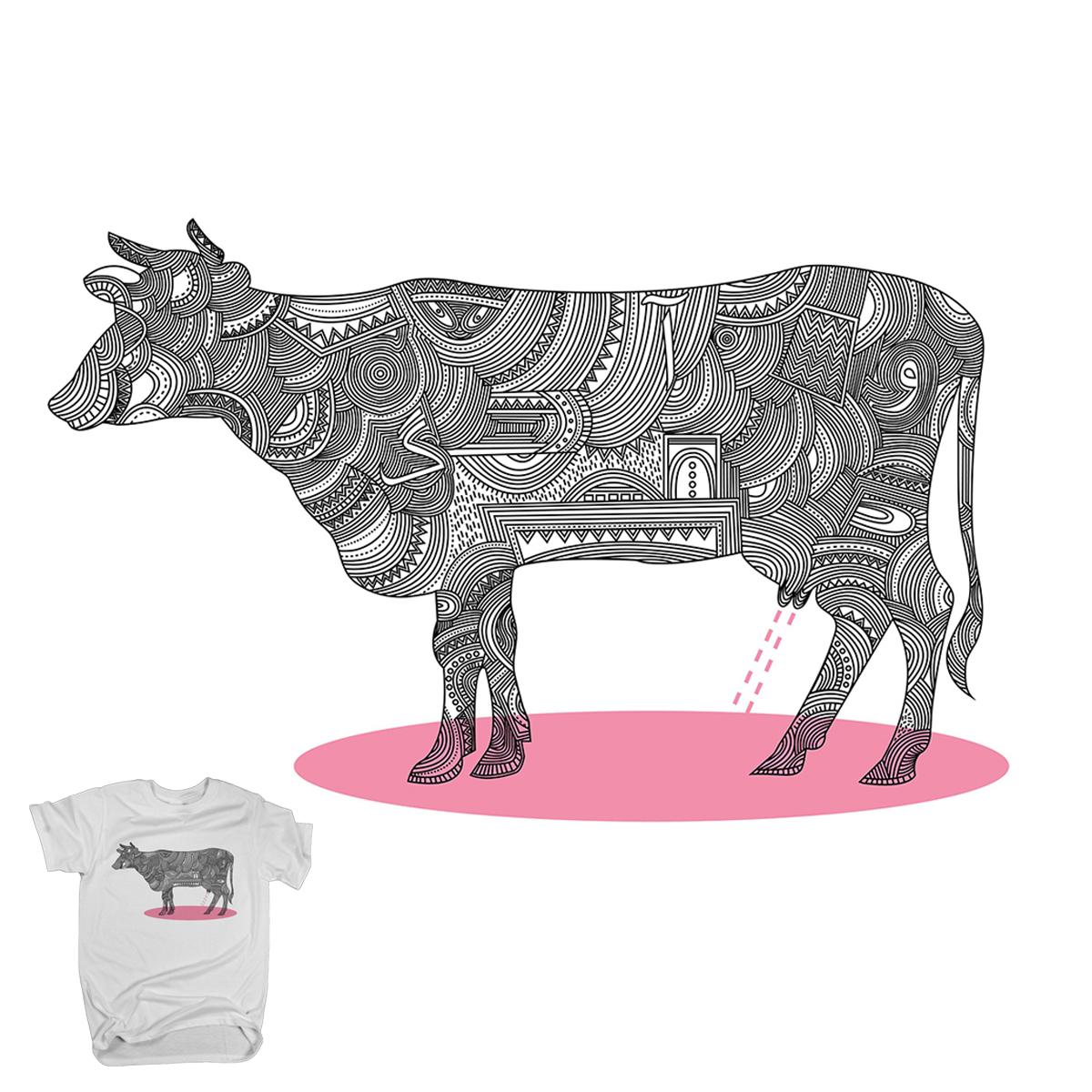 Pink Milk by El.Zahedi on Threadless