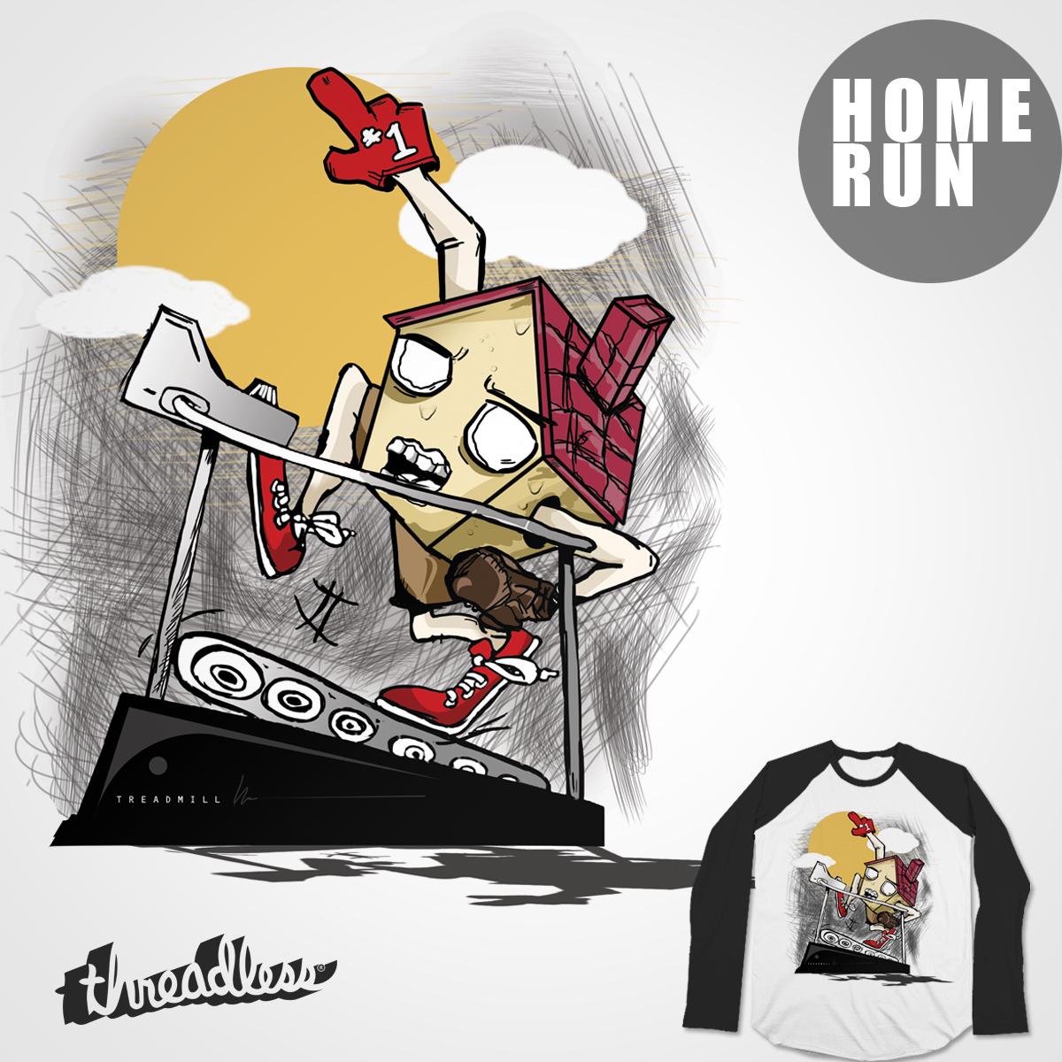 HOME RUN by fathurdavega on Threadless