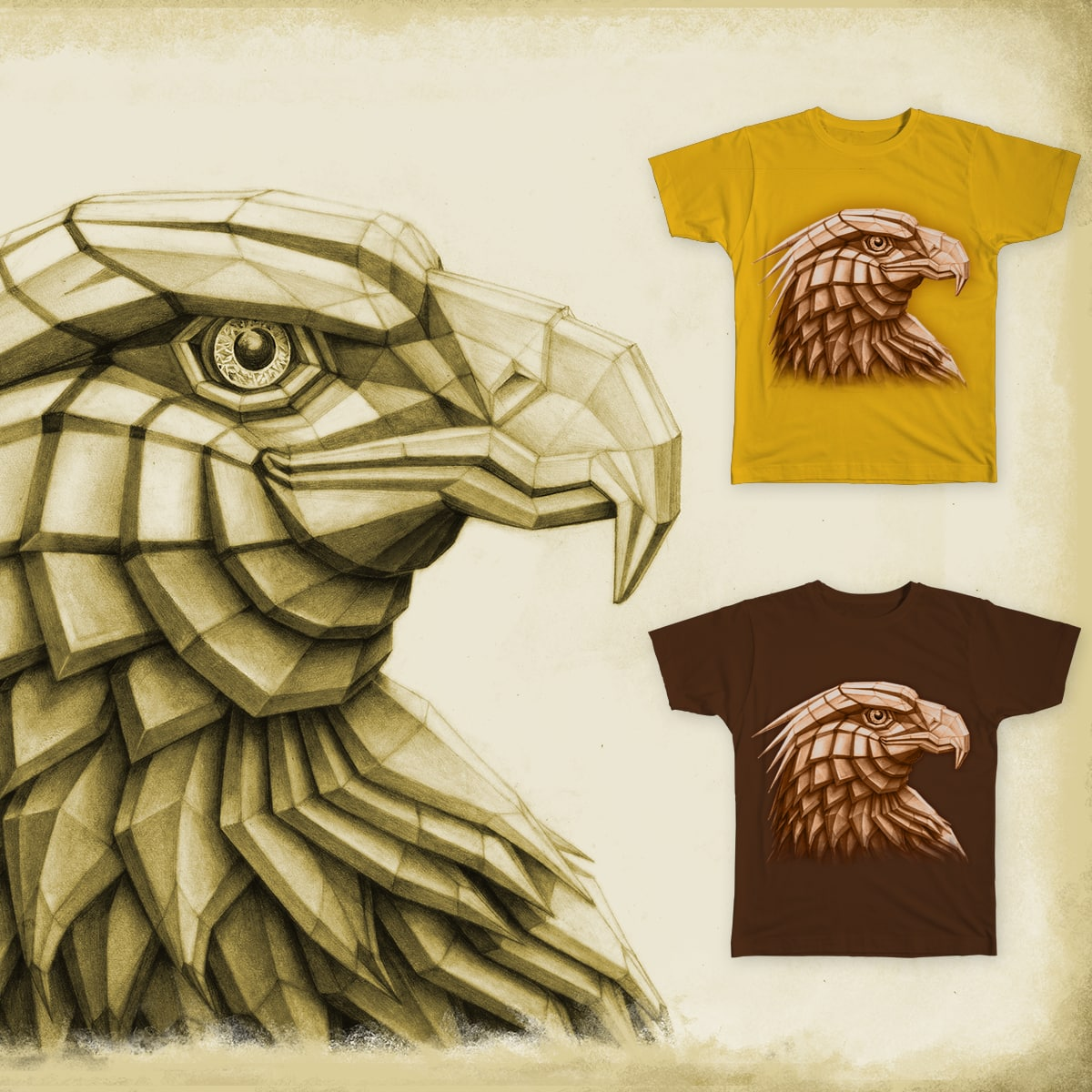 Eagle by zivts on Threadless