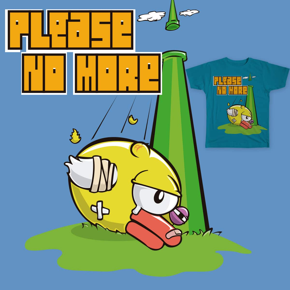 Please, no More by Betowski on Threadless