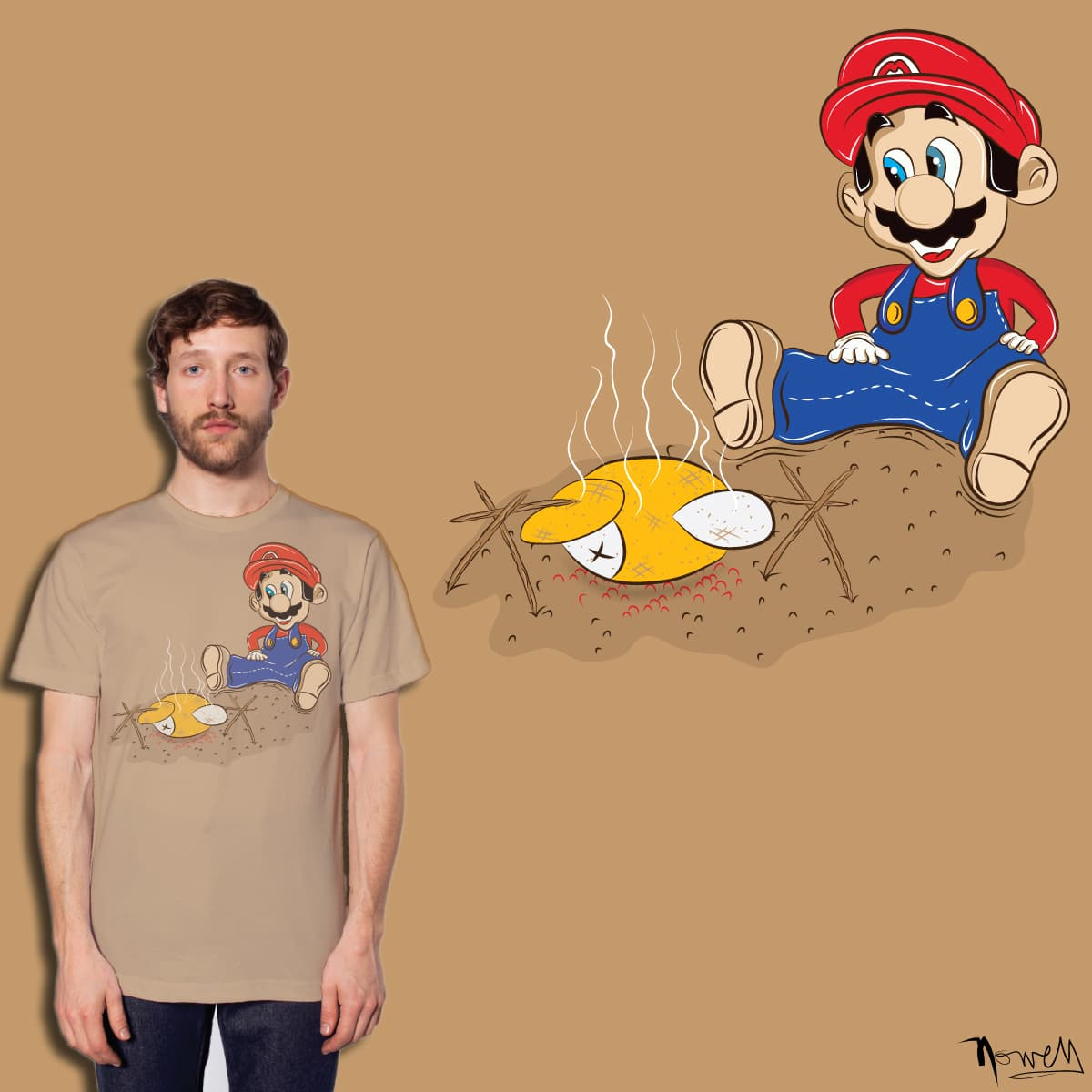 When hunger strikes.. by je14 on Threadless