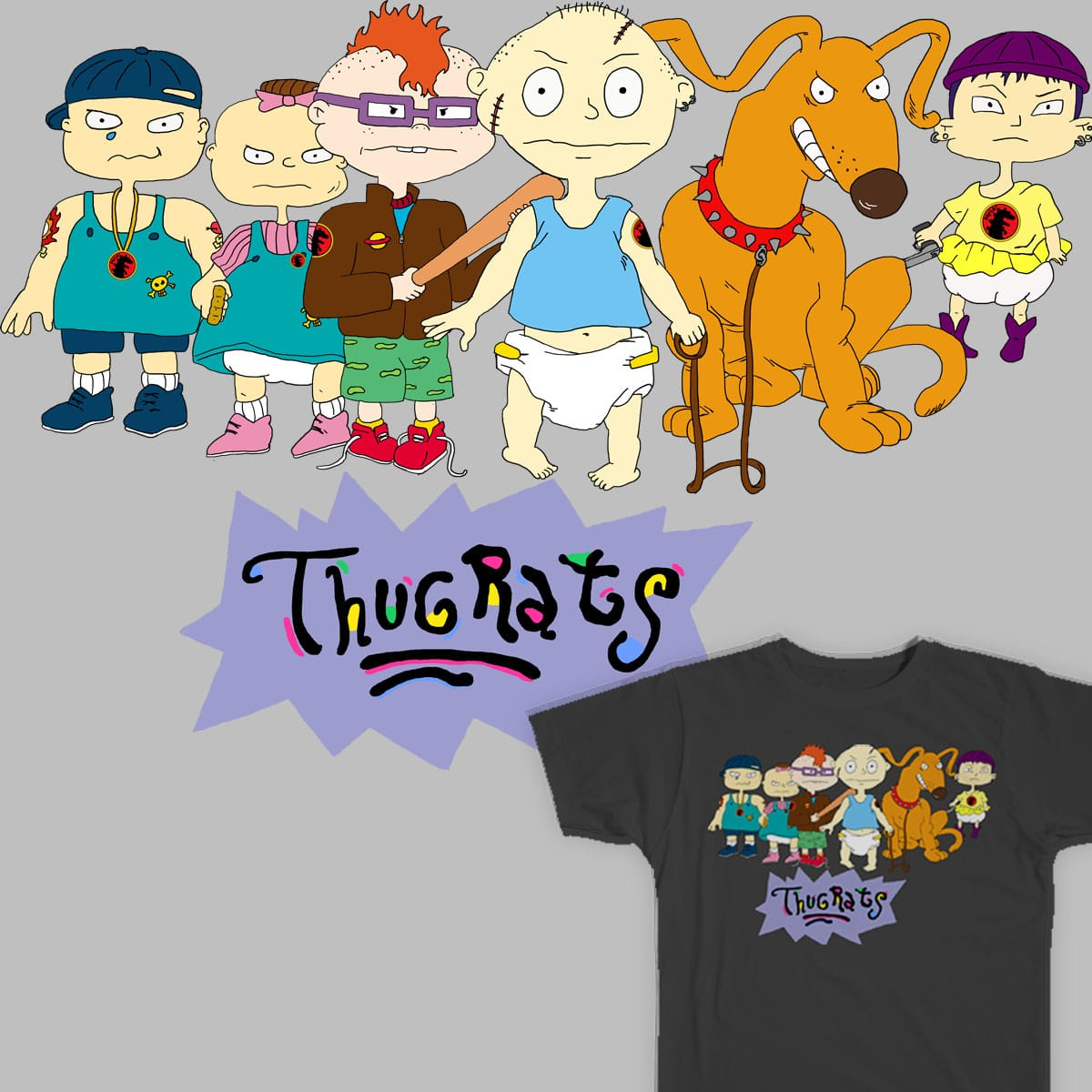 Thugrats by Wookiee_Art on Threadless