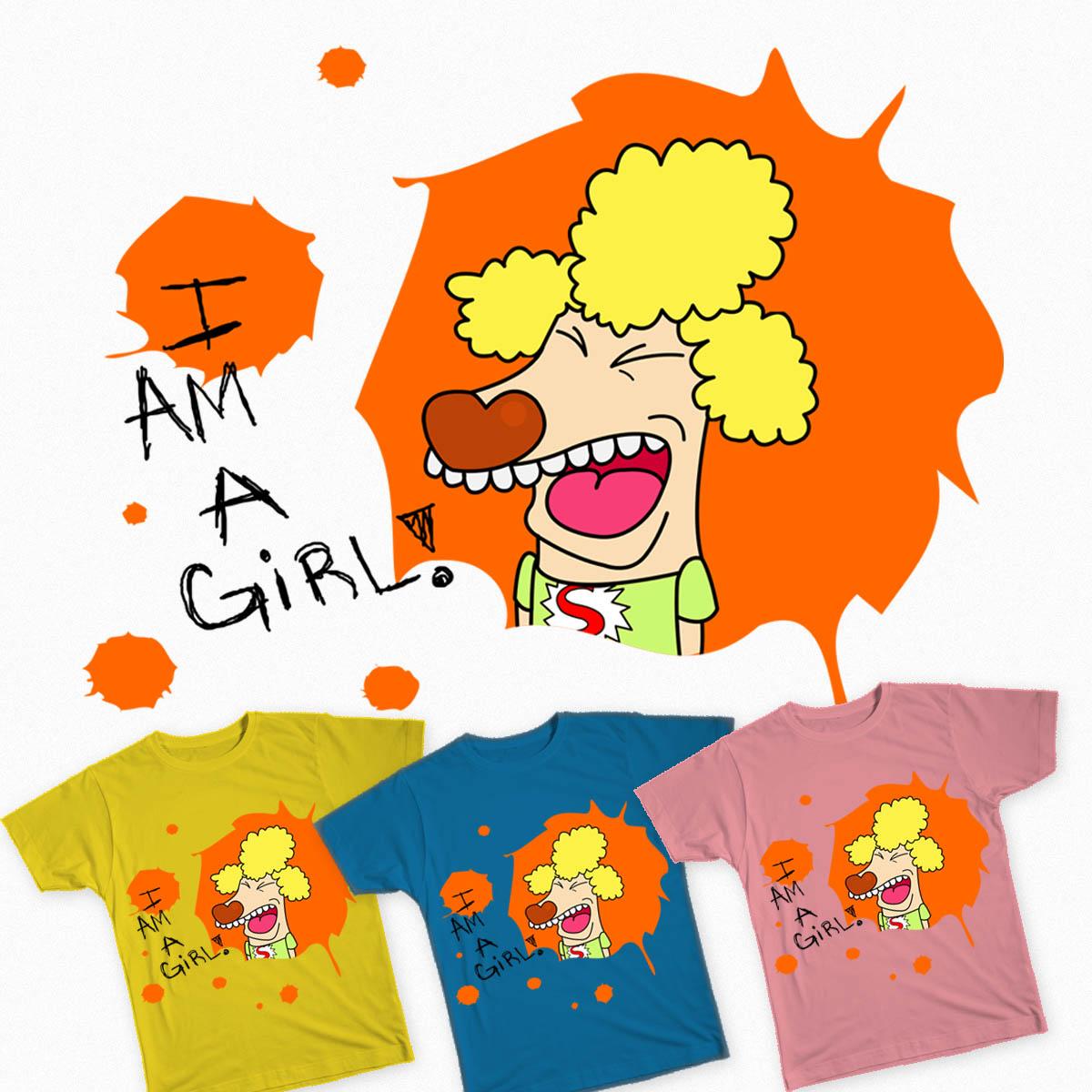 I AM A GiRL! by TeaTeasDesigns on Threadless