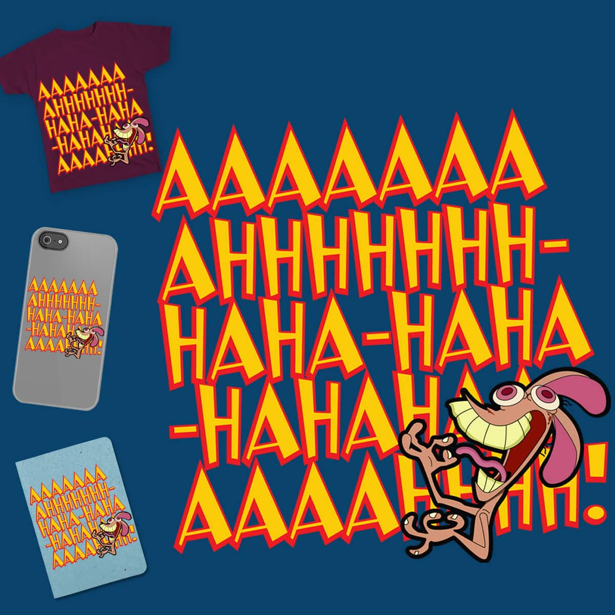 Ren's Laugh by Kixiely on Threadless