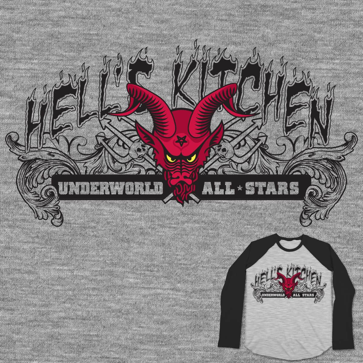 Hell's Kitchen Underworld All Stars by persh91 on Threadless