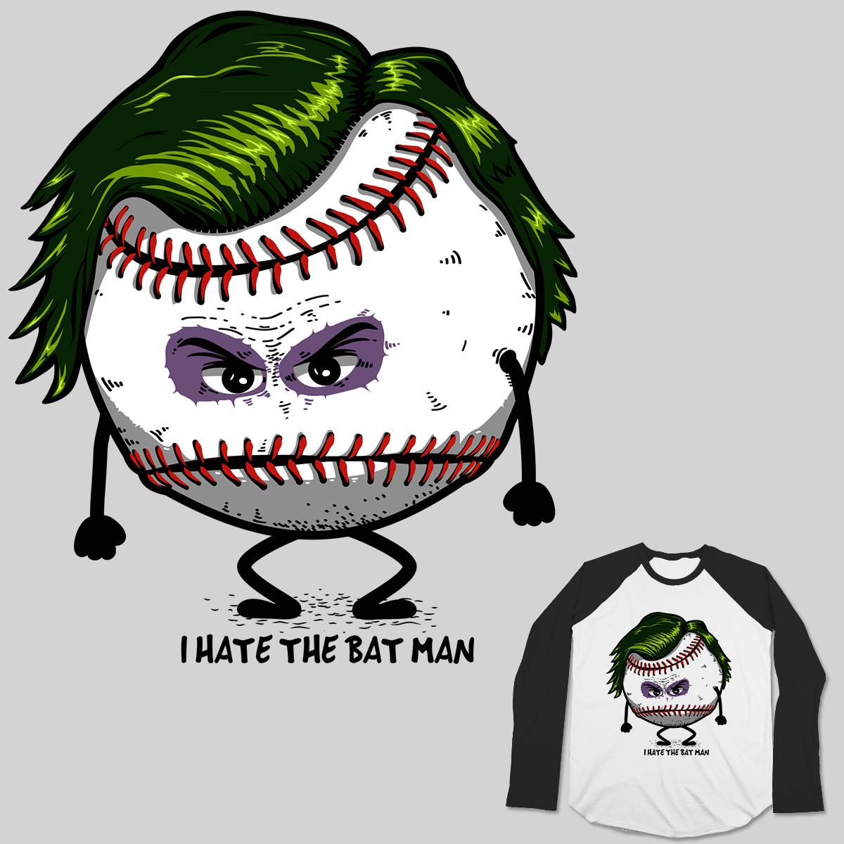 Joker vs Bat man by Theduc on Threadless