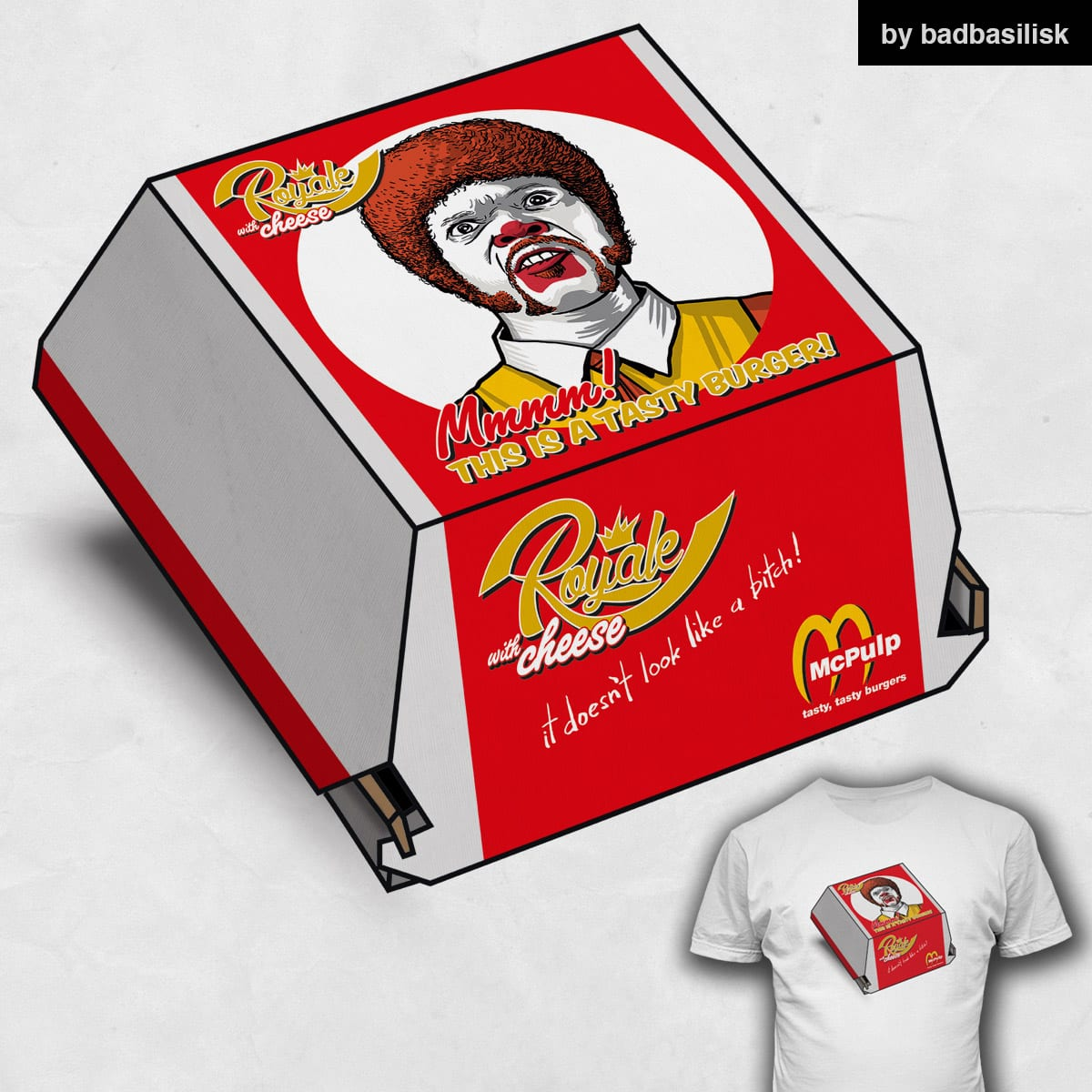 Royale with Cheese  by badbasilisk on Threadless