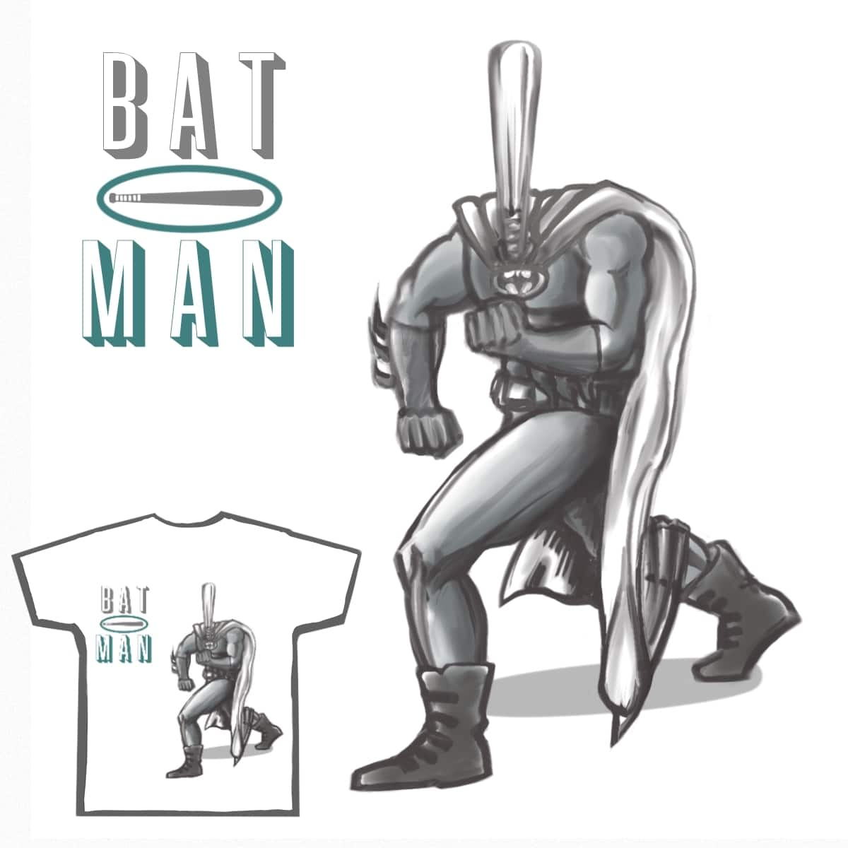 BATman by Contralives on Threadless