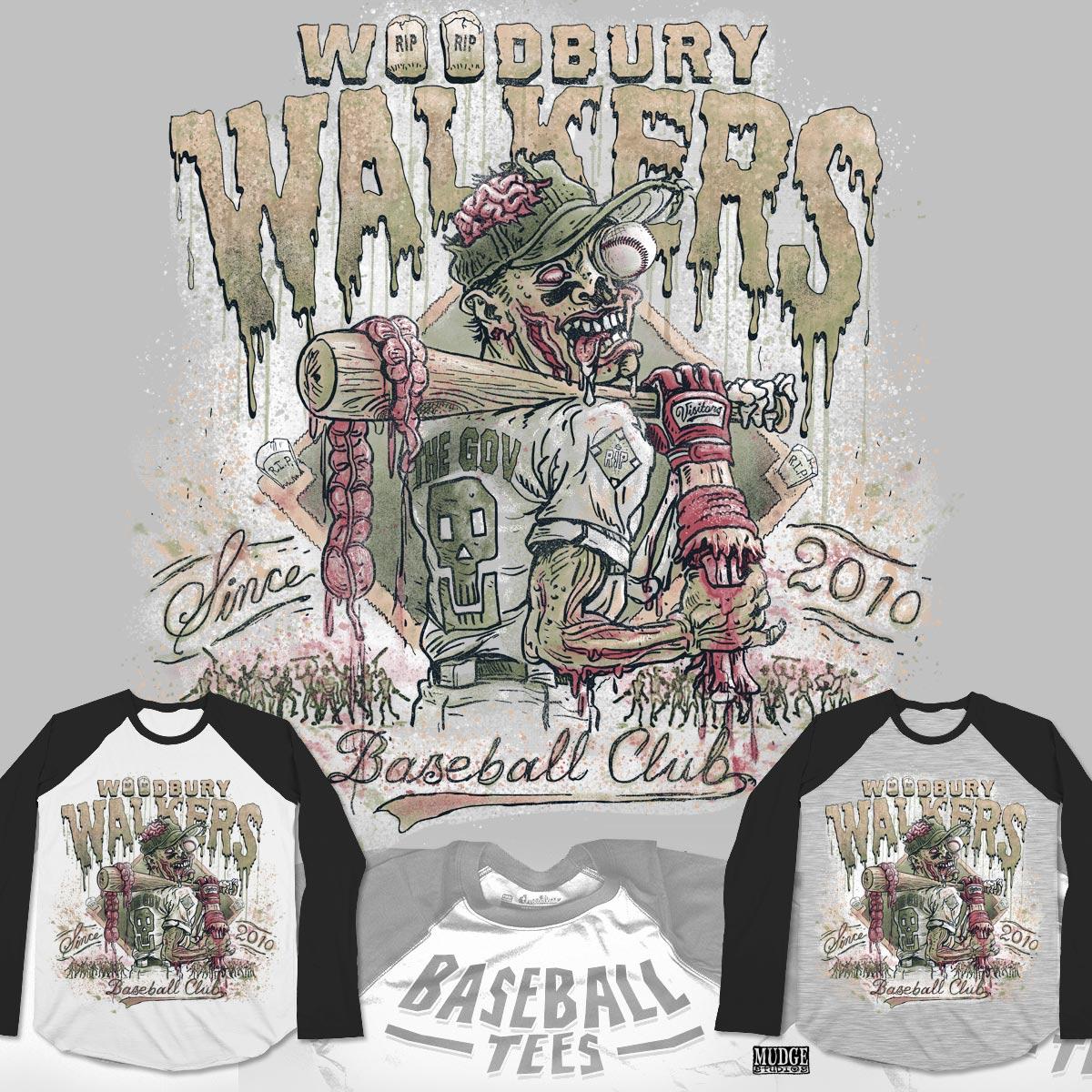 Woodbury Walkers by MudgeStudios on Threadless