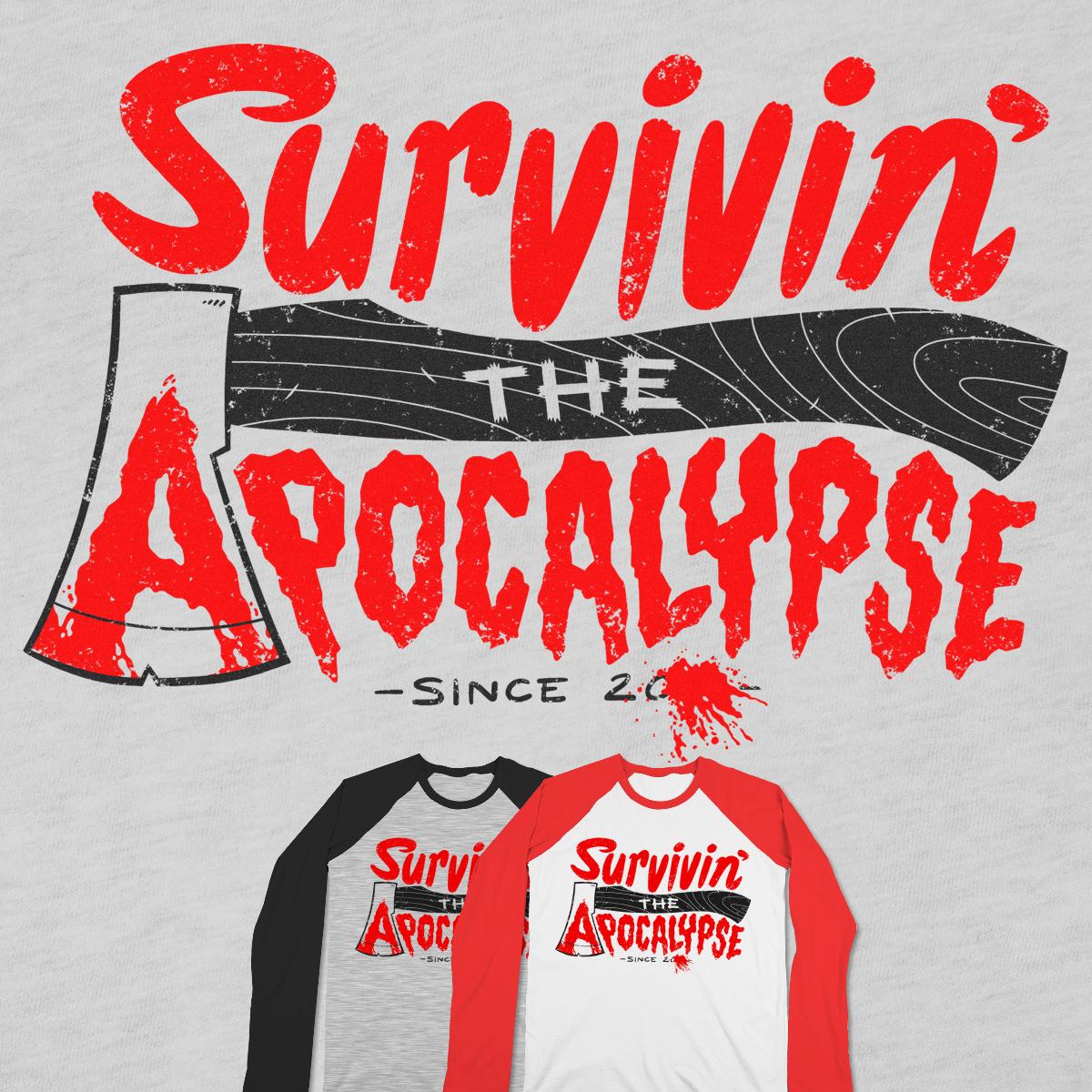 Survivin' by Morkki on Threadless
