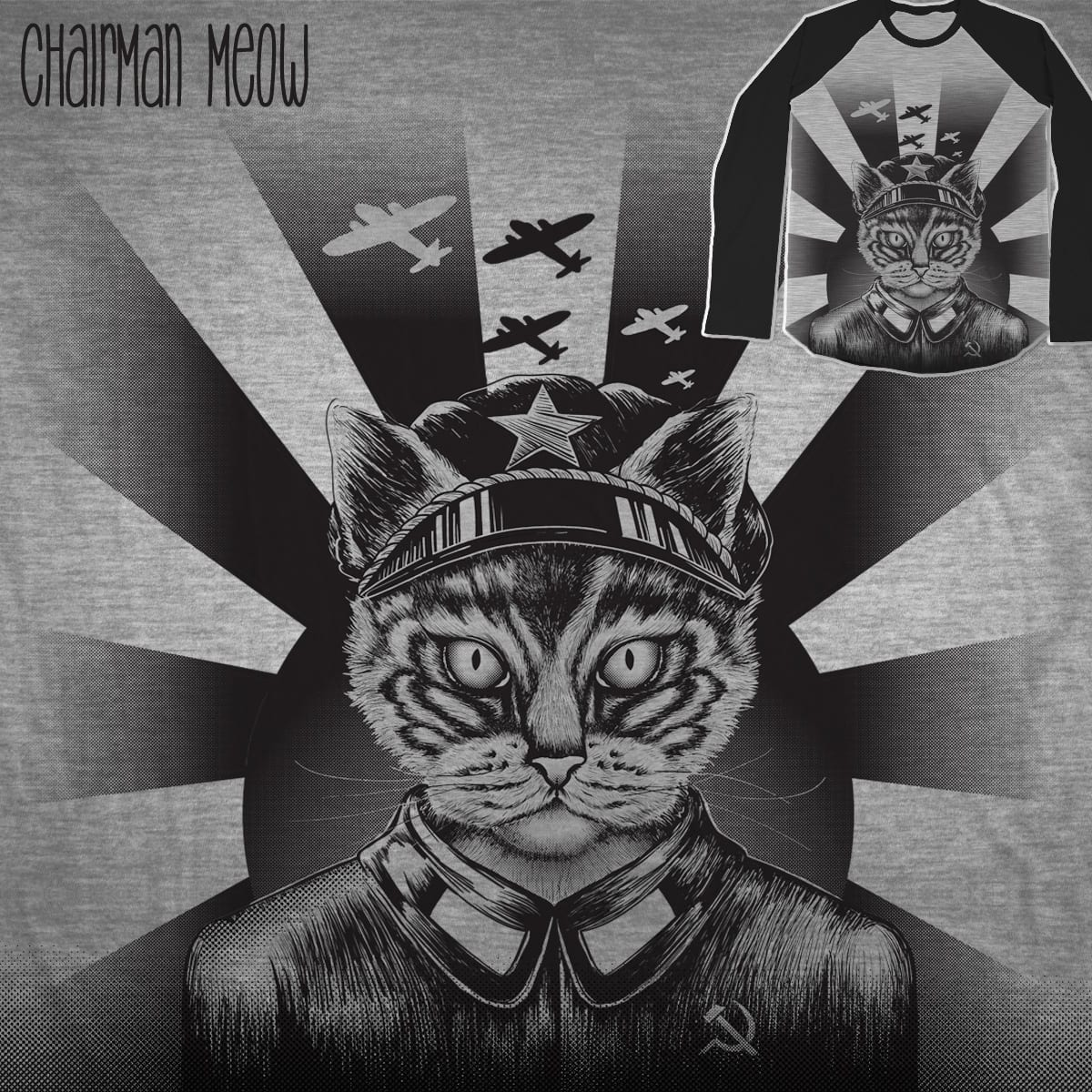 Chairman Meow by Kellabell9 on Threadless
