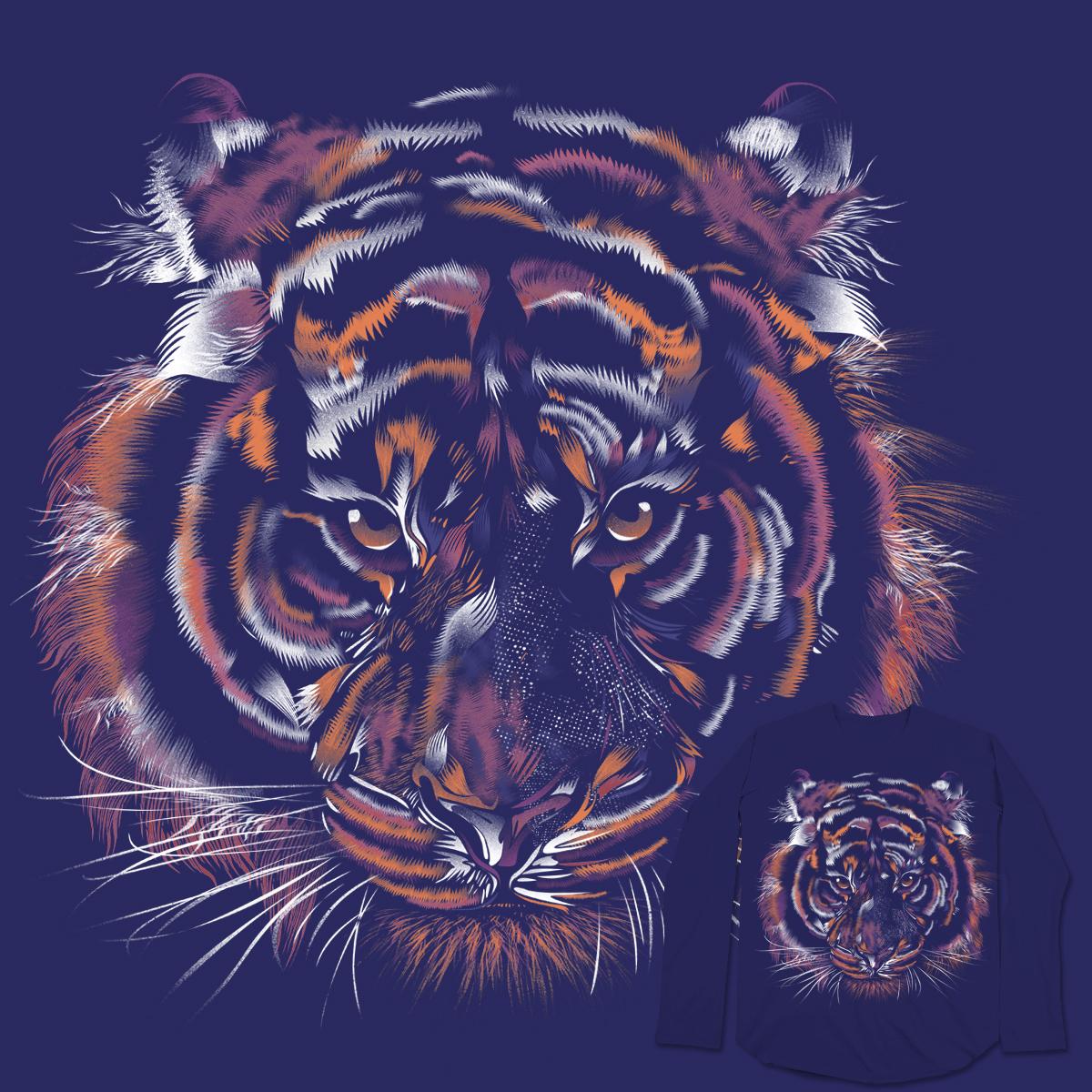 Wild Tiger by dandingeroz on Threadless