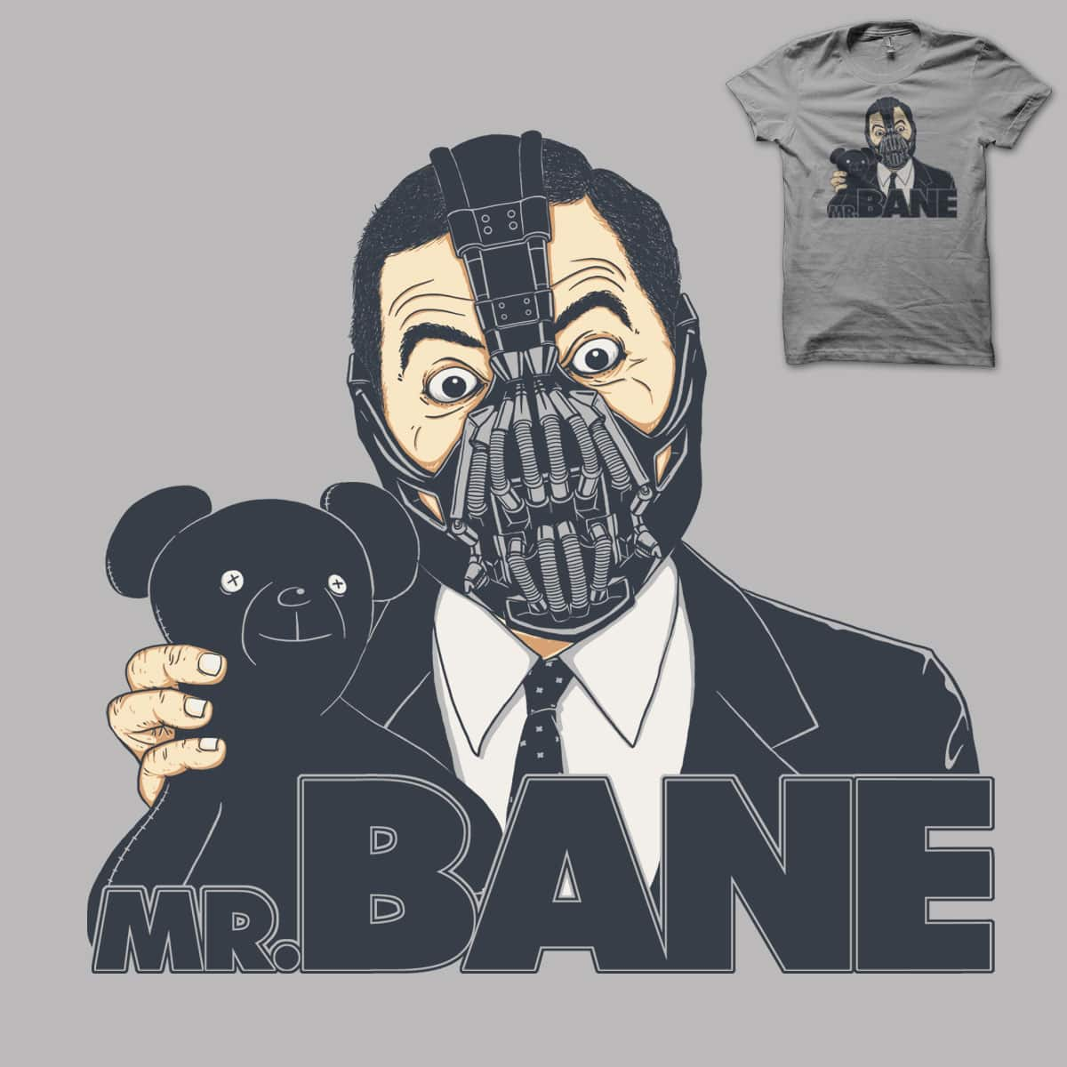 Mr. Bane by triagus on Threadless
