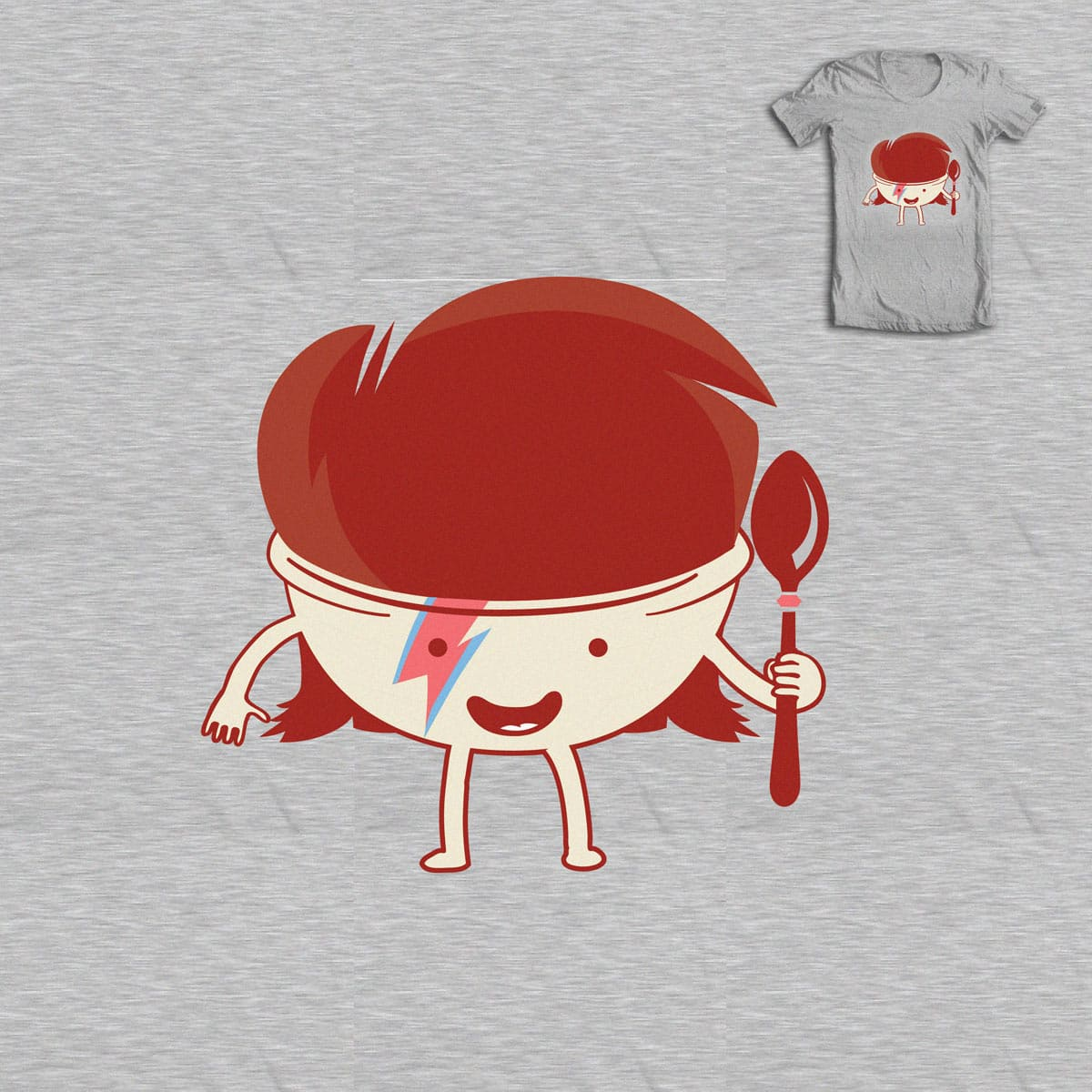This is David Bowl by Skate_e1 on Threadless