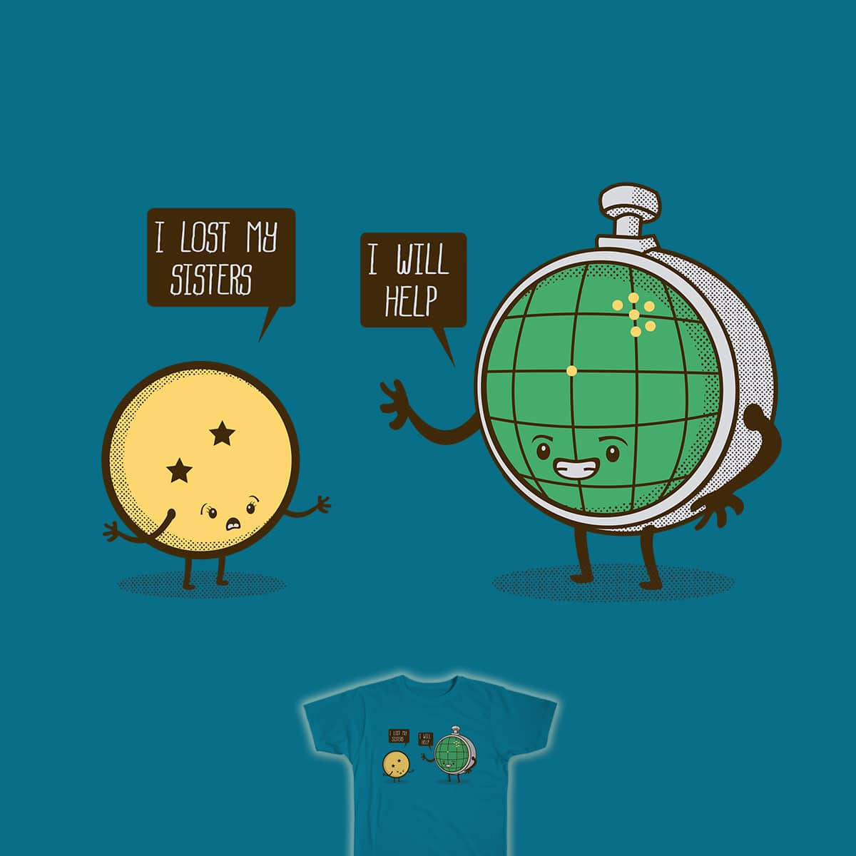 Lost sisters by BobadasGraficas on Threadless