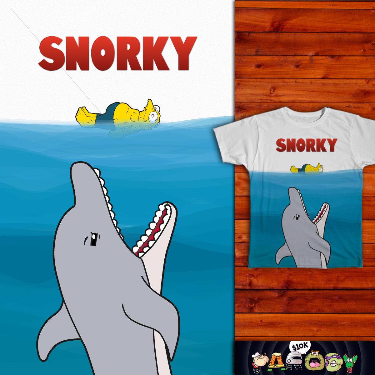 Snorky's jaws. by Aguvagu on Threadless