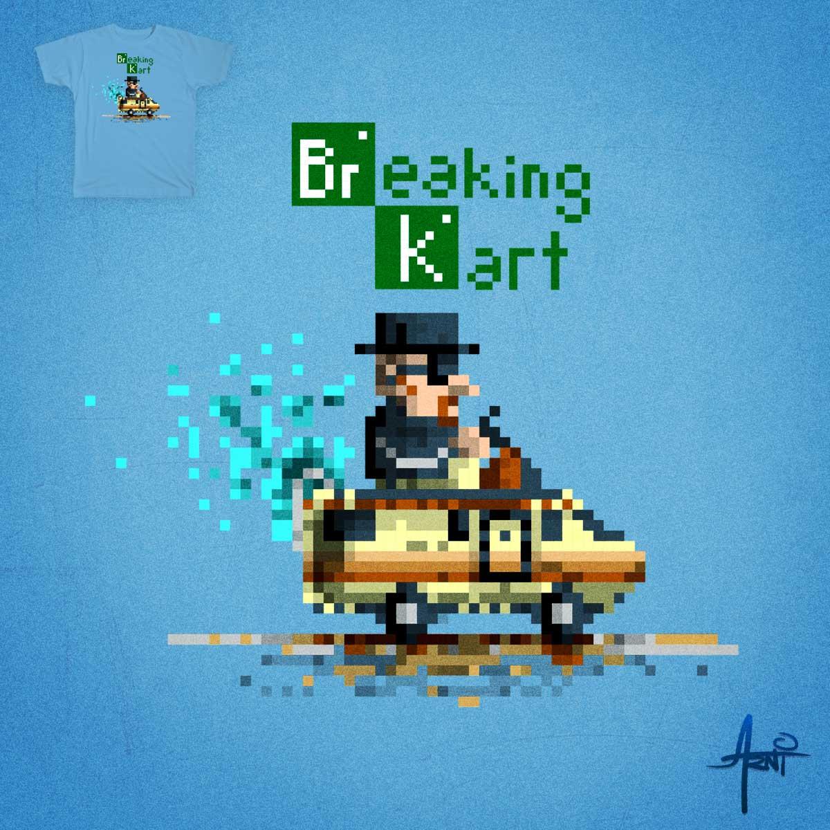 Breaking Kart by albertoarni on Threadless