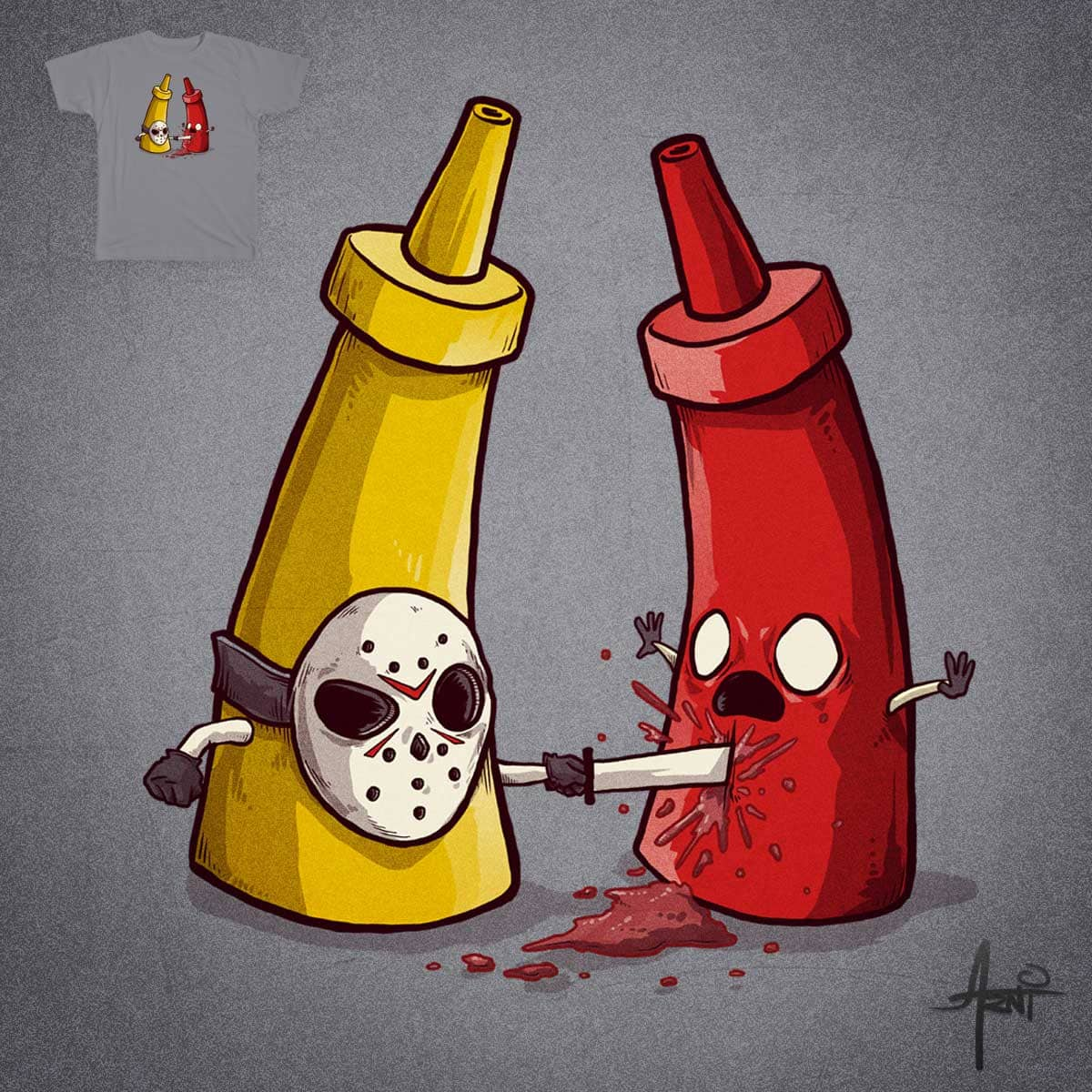 It's Only Ketchup by albertoarni on Threadless