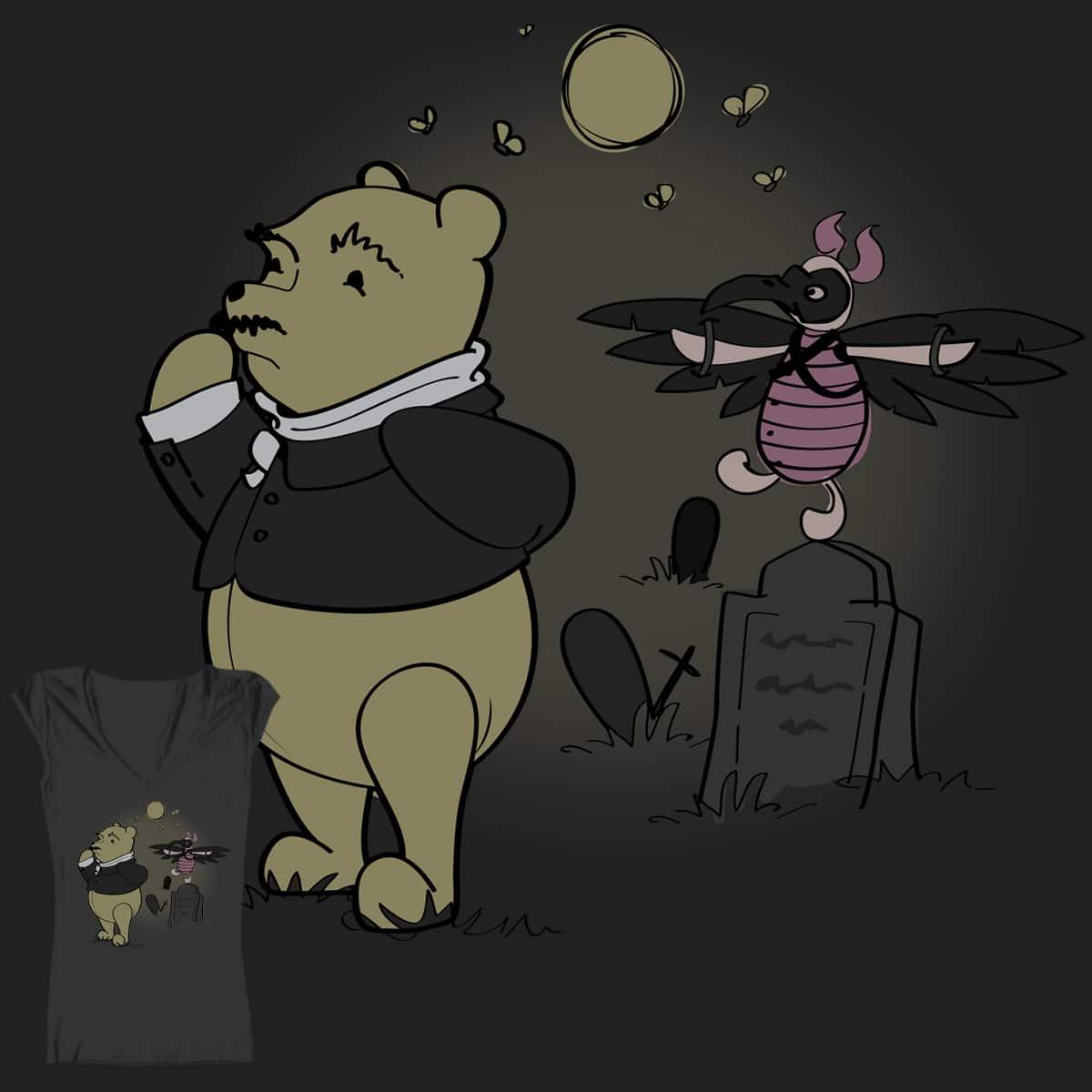 Winnie-the-Poe by Jess-Design-and-Illustration on Threadless