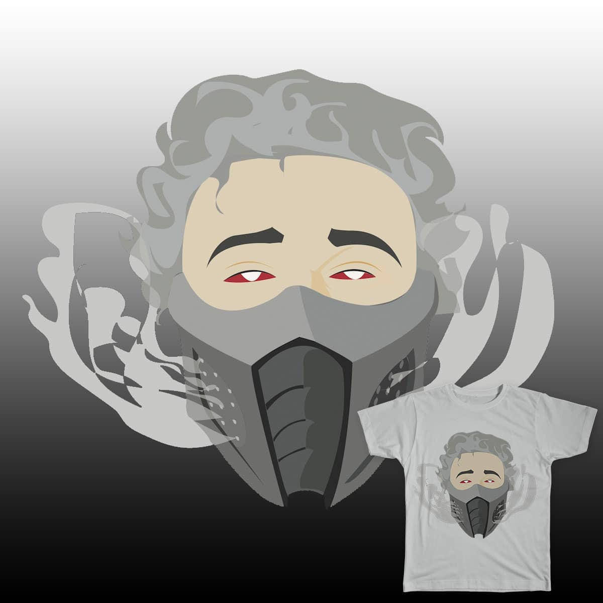 SMOKE by Handzon_Artise on Threadless