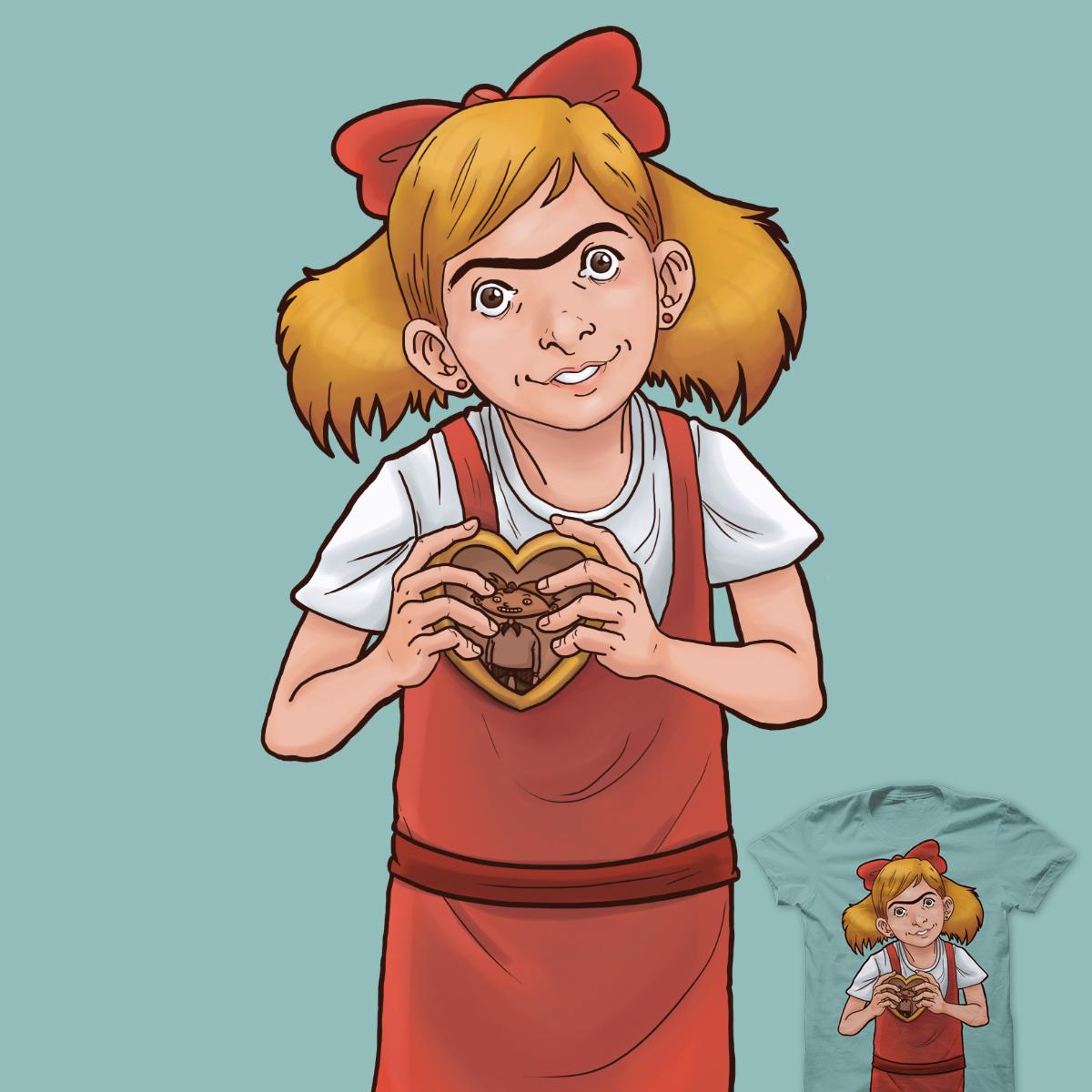 Overly Attached Helga by Daviisilva and bernardog on Threadless